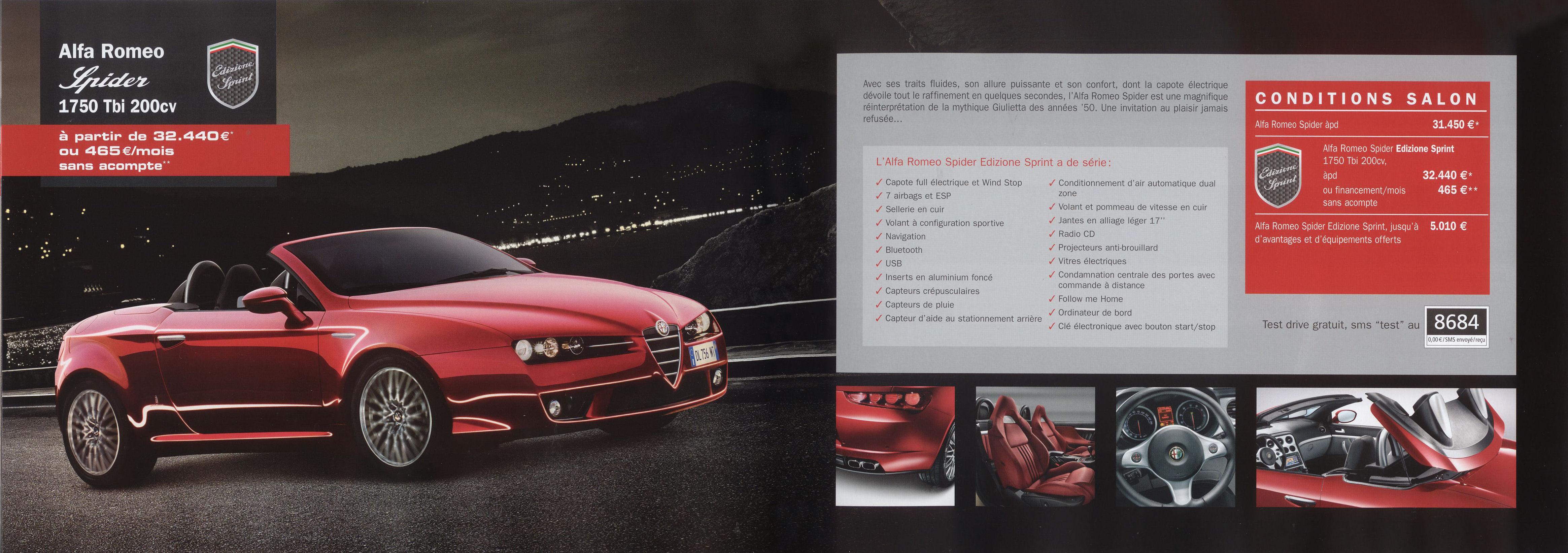 2010 Alfa Romeo brochure