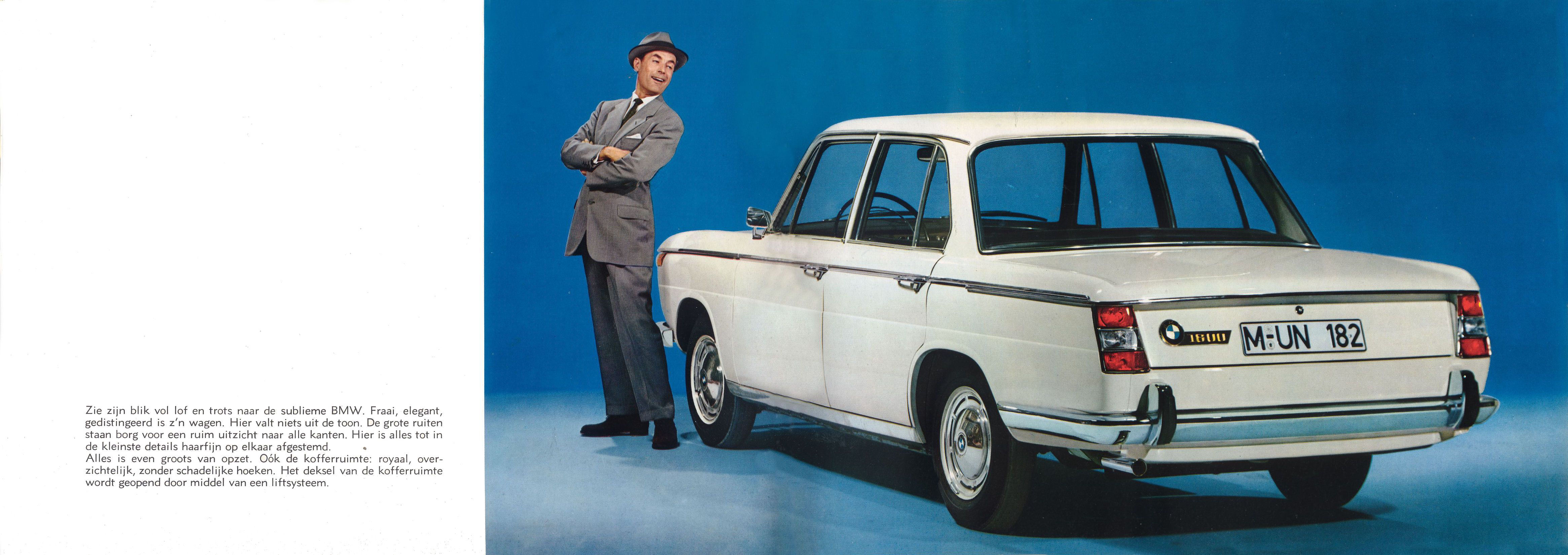 Bmw >> 1966 BMW 1800 brochure
