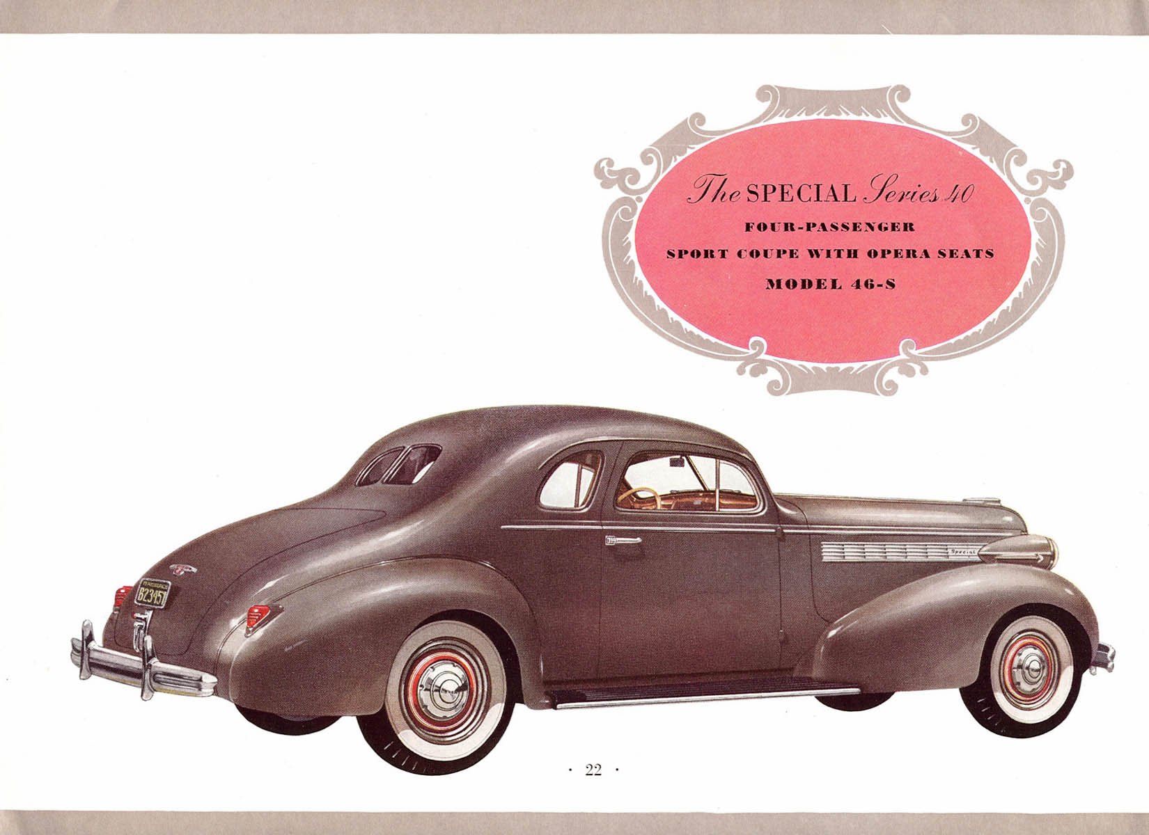 Car Image S >> 1938 Buick brochure
