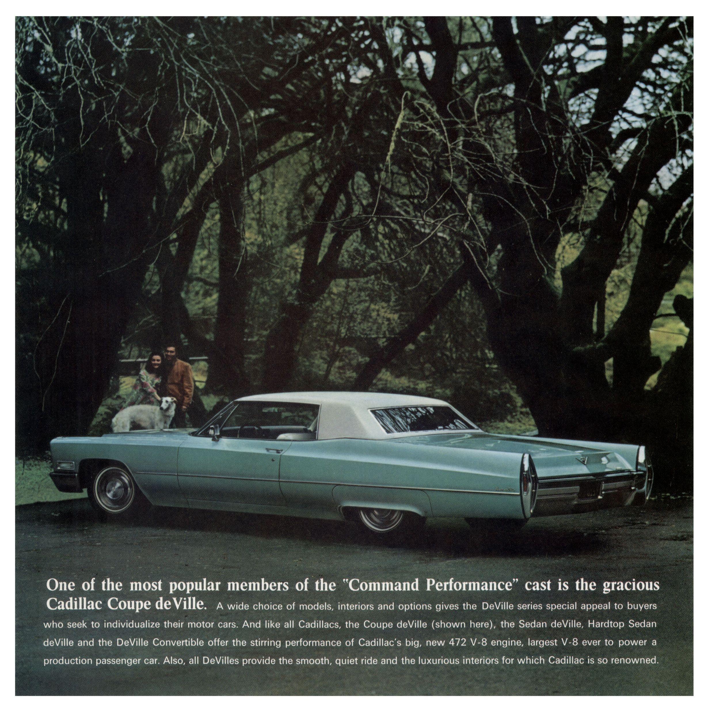1968 Cadillac Brochure