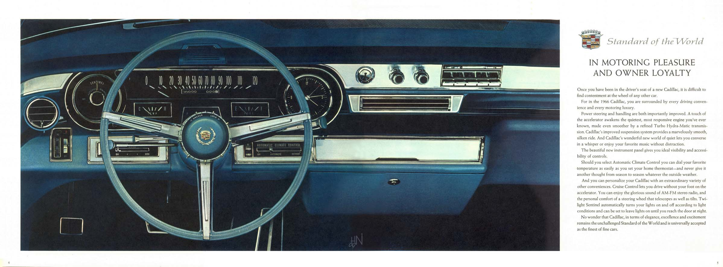 1966 Cadillac brochure