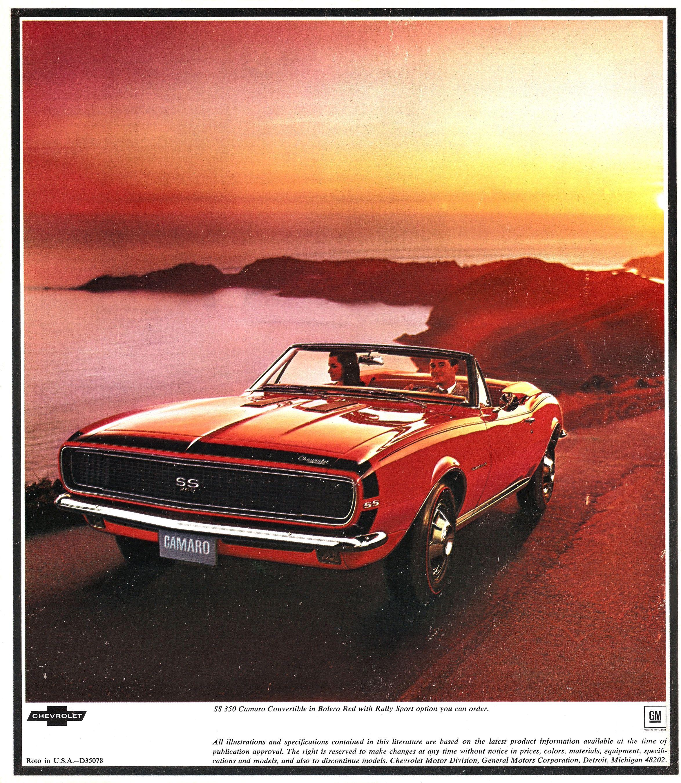 1967 Chevrolet Camaro brochure
