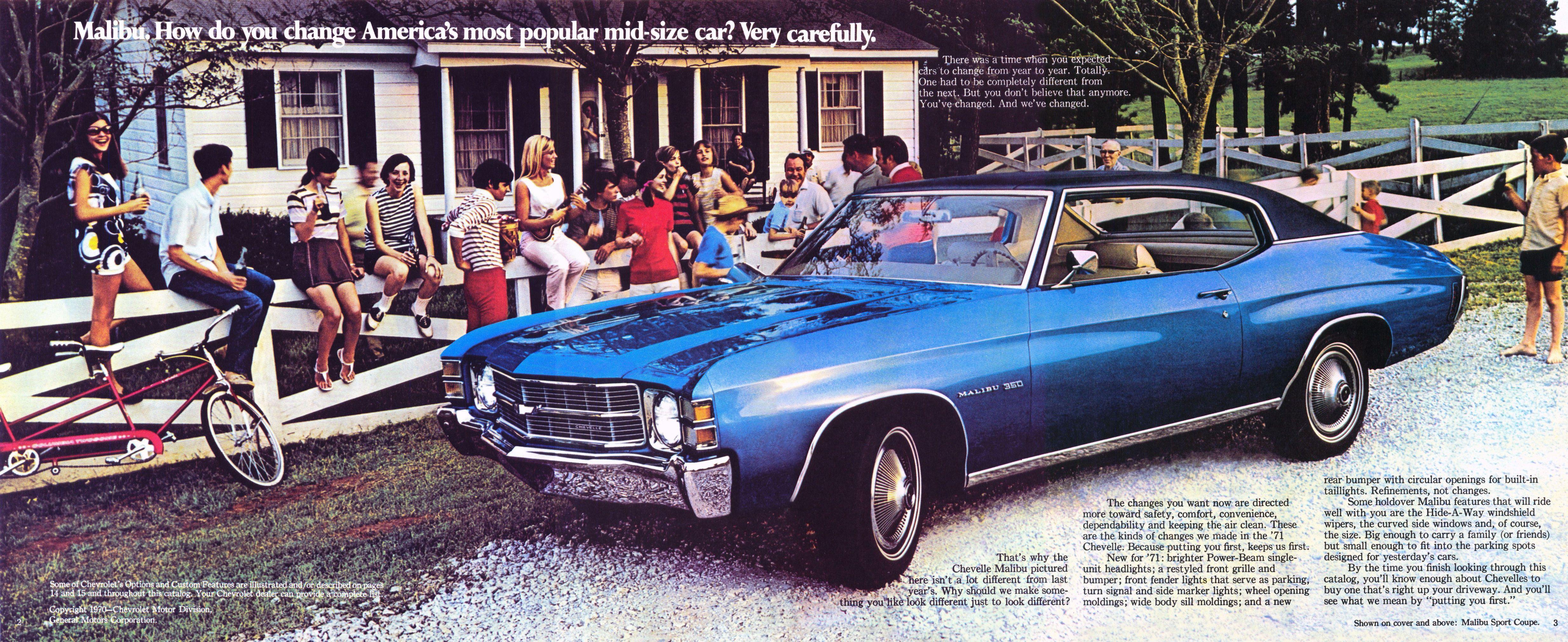 1971 Chevrolet Chevelle brochure