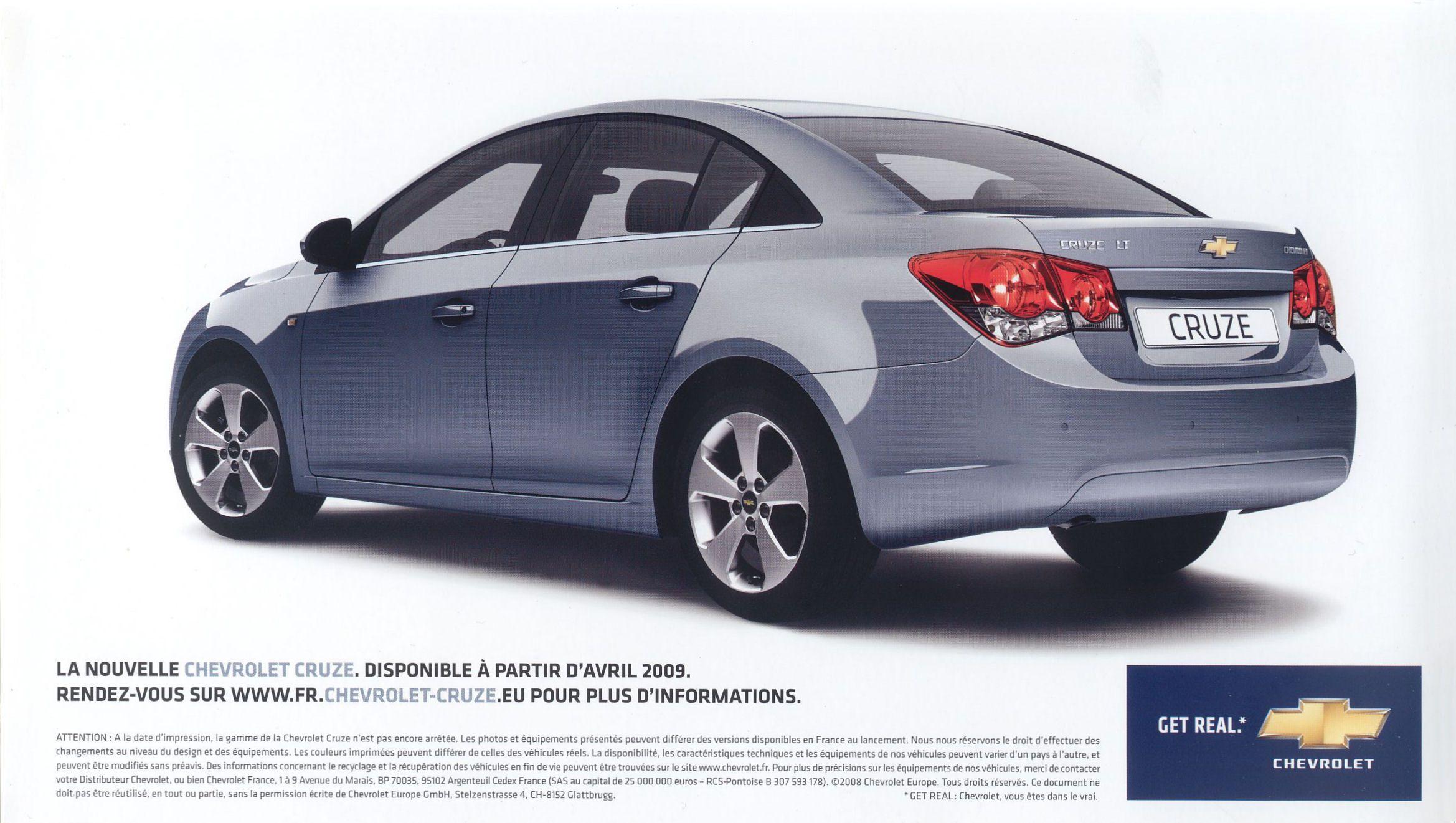 2008 Chevrolet Cruze Brochure