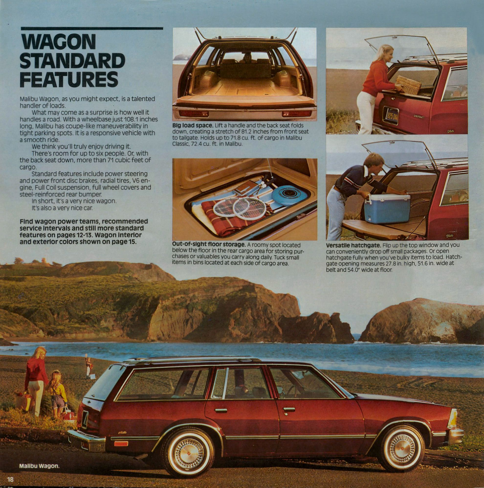 1981 Chevrolet Malibu brochure