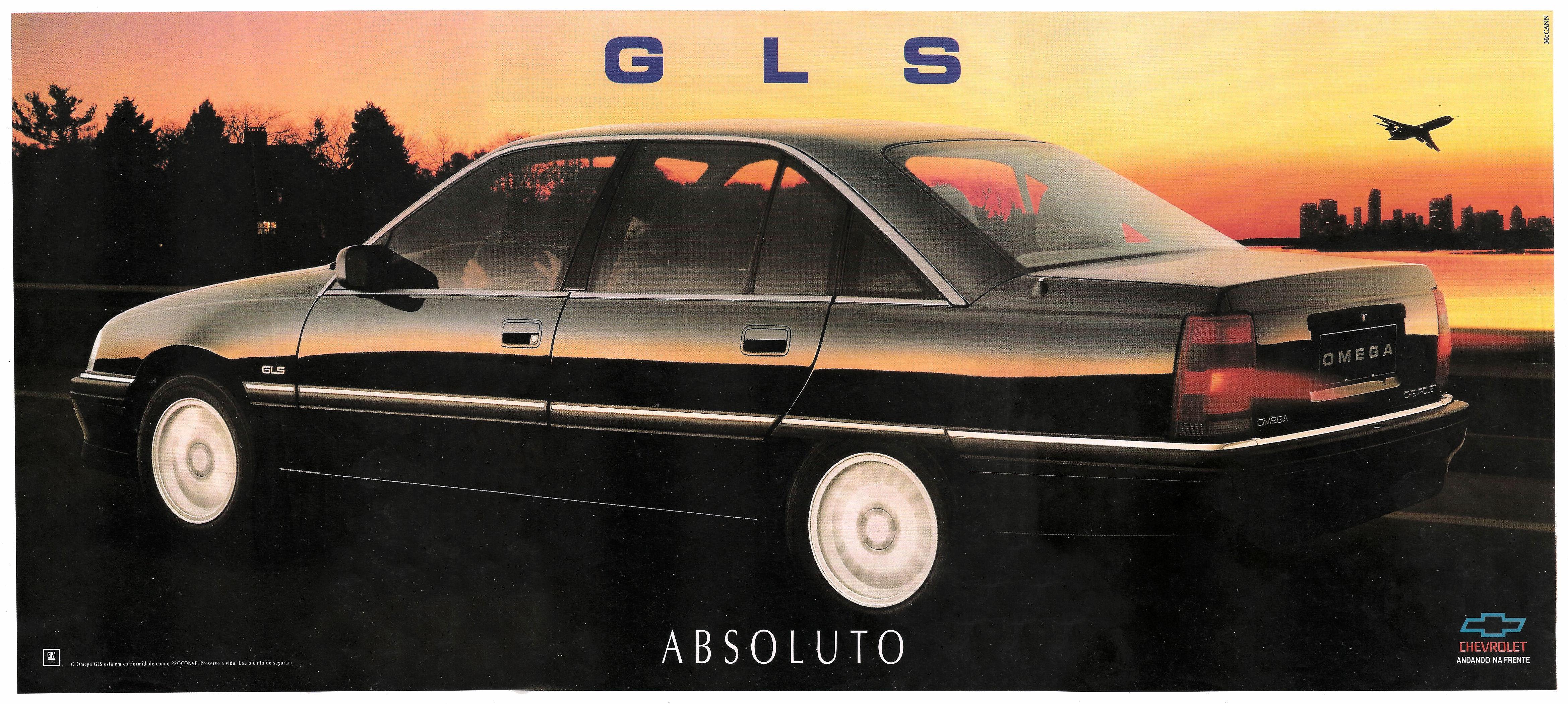 1993 Chevrolet Omega Brochure