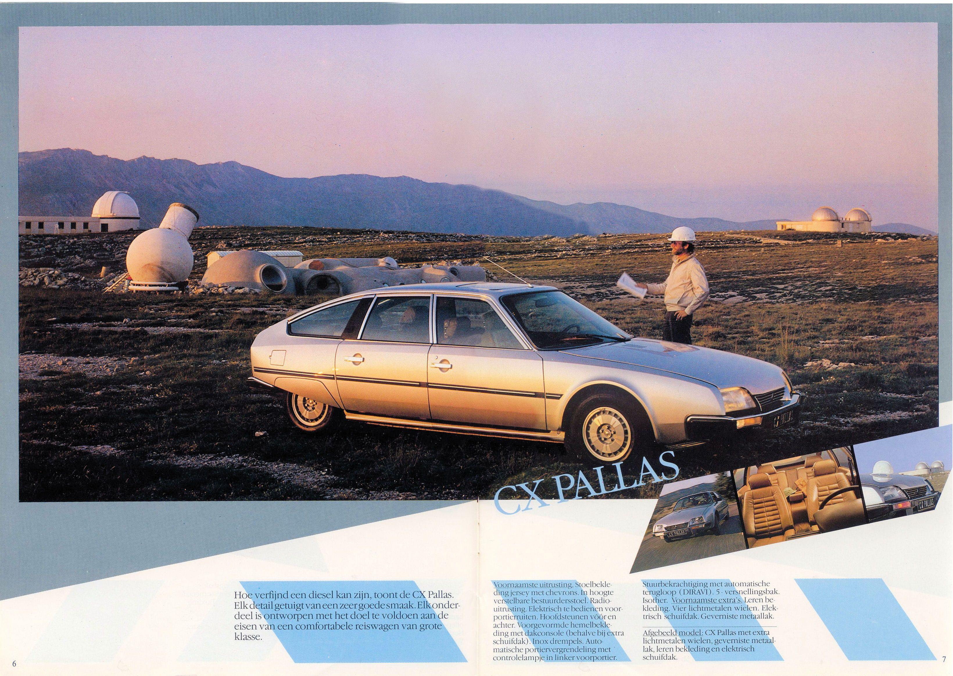 catalogue CITROEN CX diesel berlines toute les versions   1982 C.4173