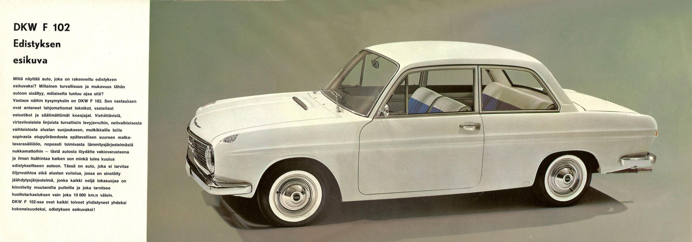 1963-66 DKW F102 brochure