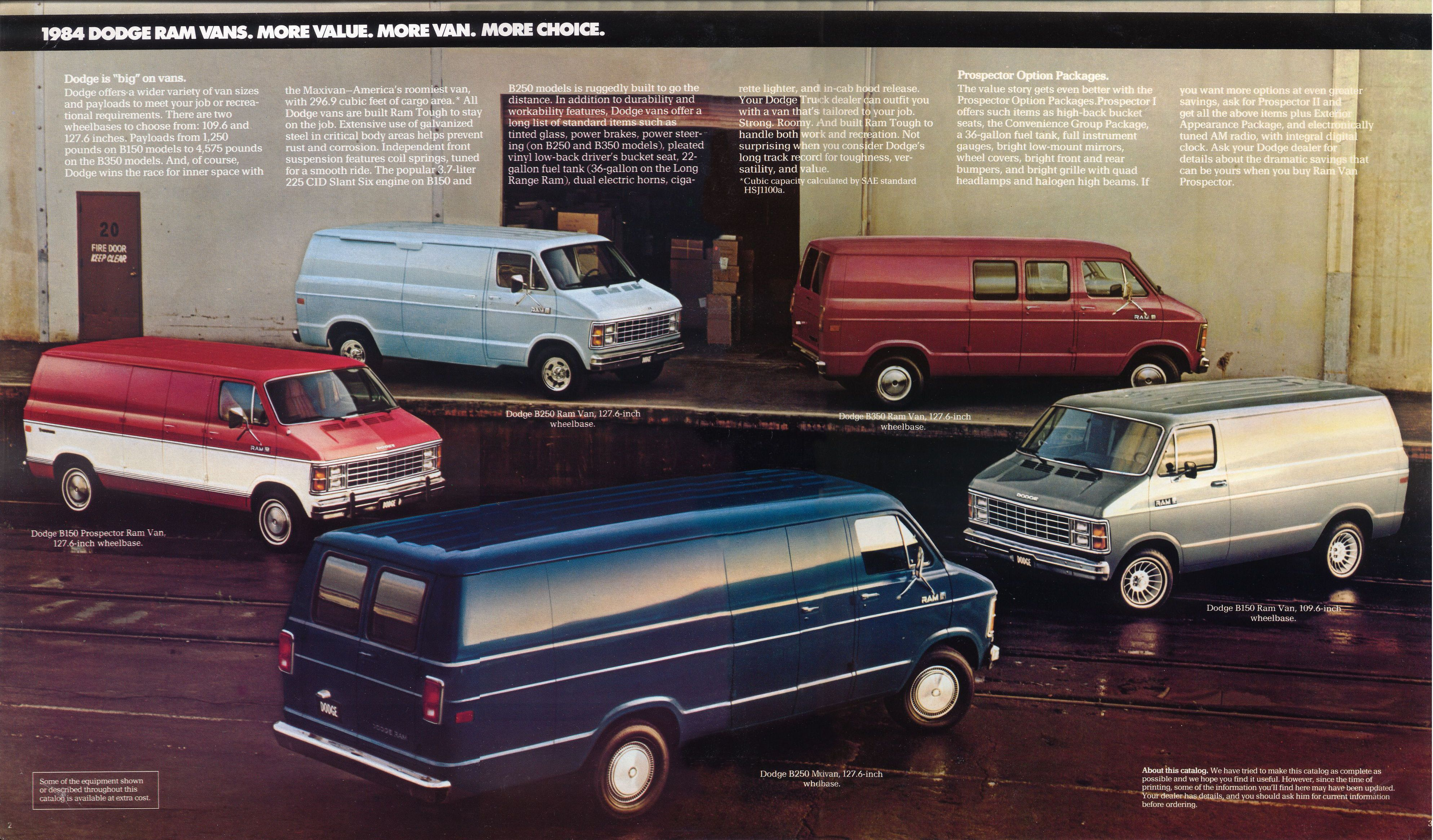 Old Dodge Ram >> 1984 Dodge Ram brochure
