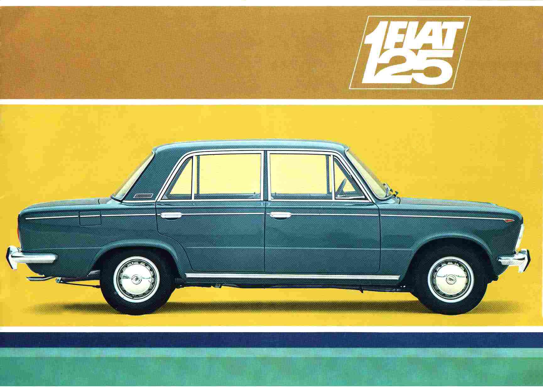 Fiat 125, revue technique,manuel de réparation, livre et documentation,
