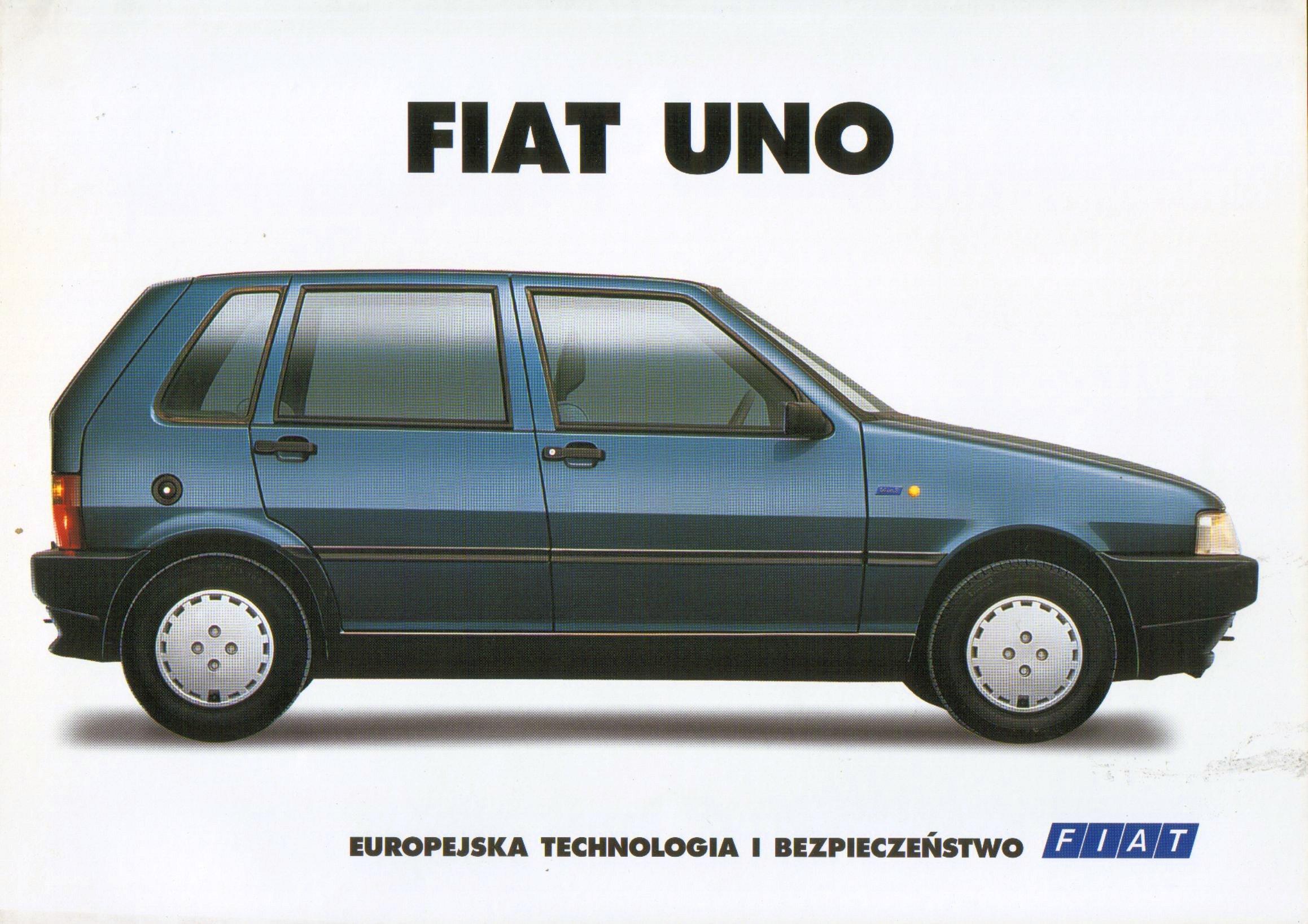 1996 Fiat Uno Brochure