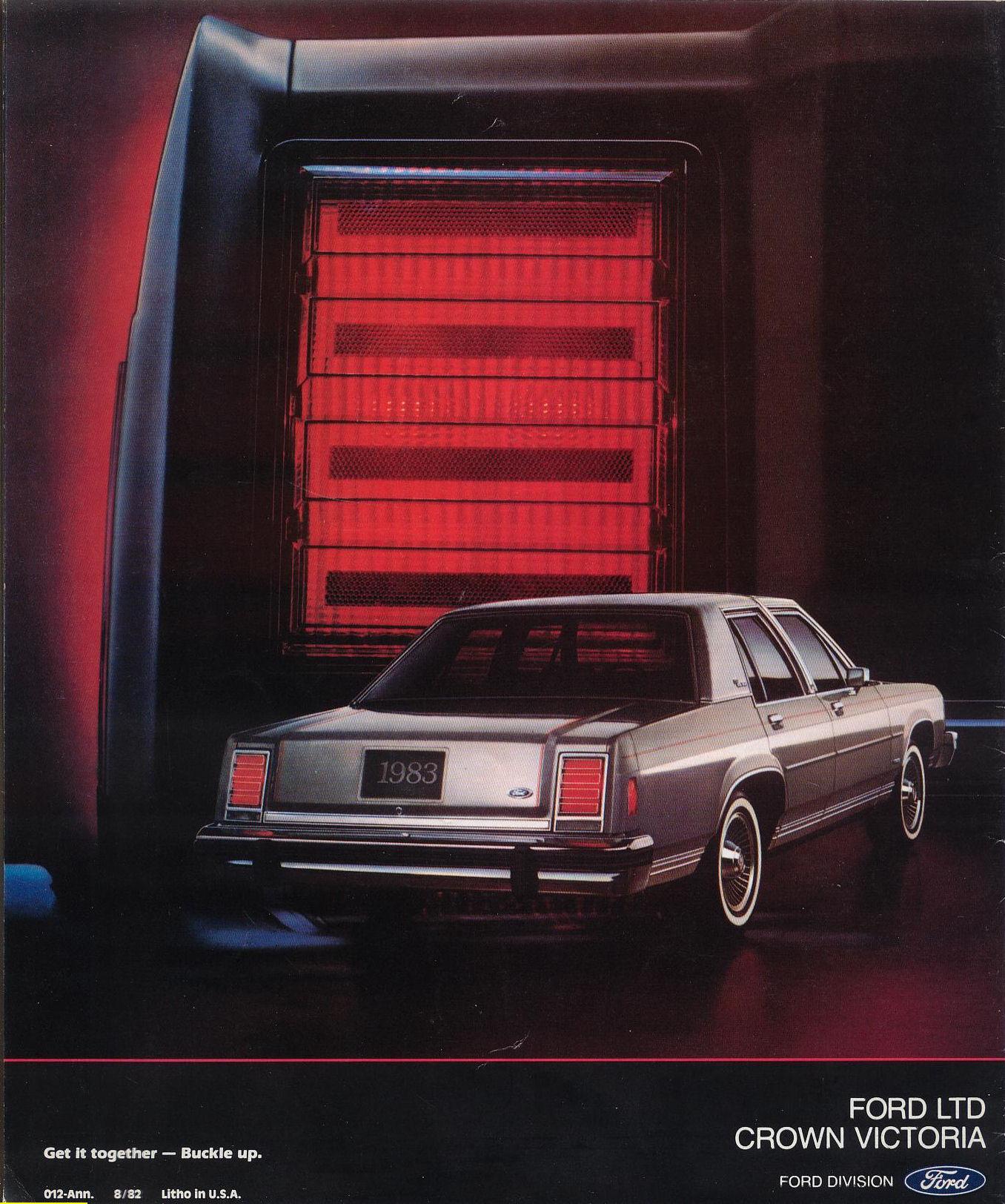1983 Ford Crown Victoria Brochure
