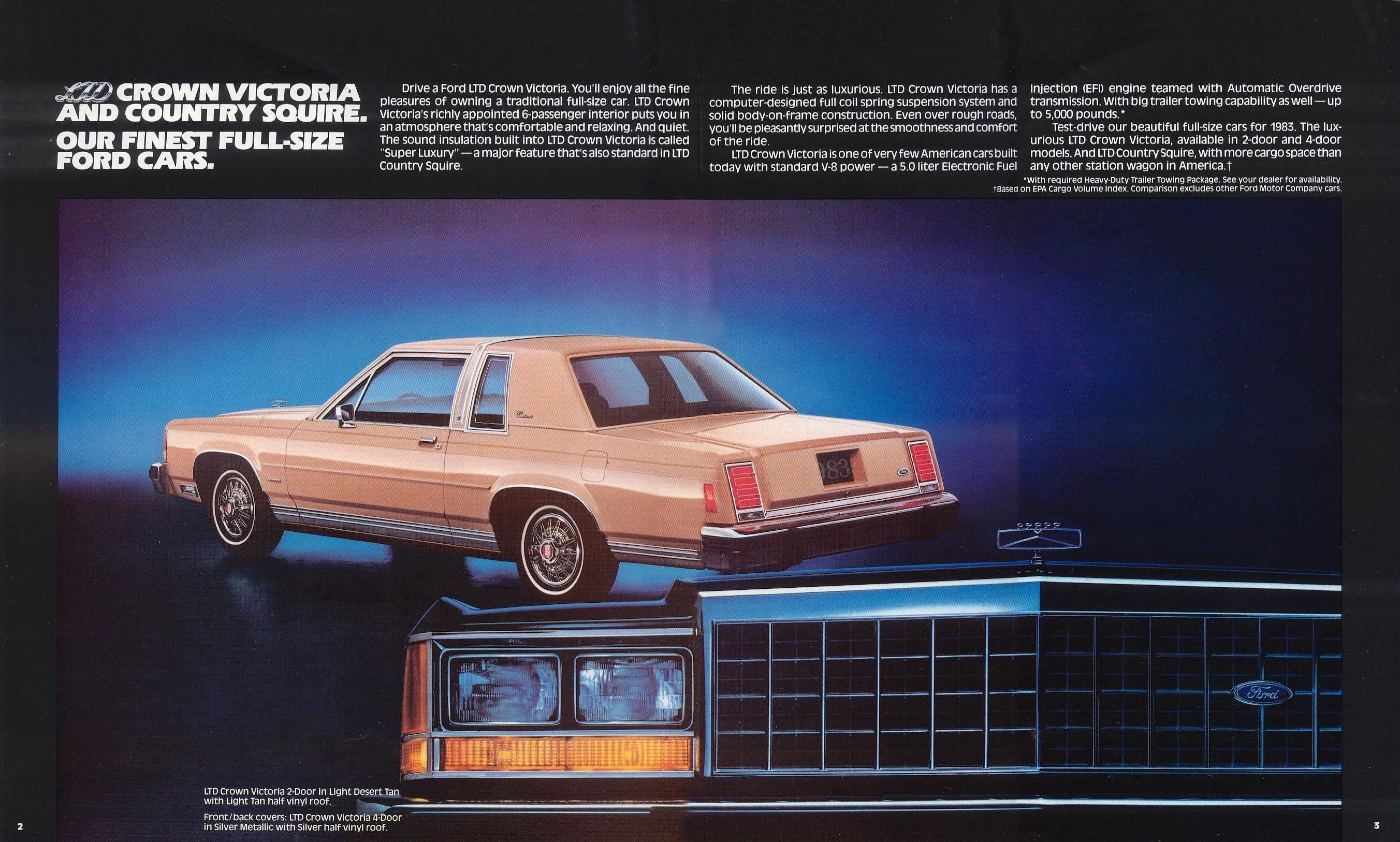 1983 Ford Crown Victoria Manual Complete Wiring Diagrams 1980 Brochure Rh Storm Oldcarmanualproject Com 1986