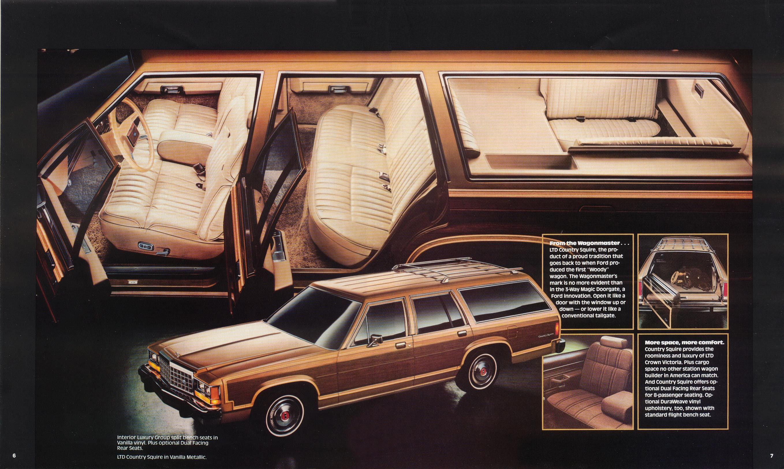 1983 Ford Crown Victoria Brochure