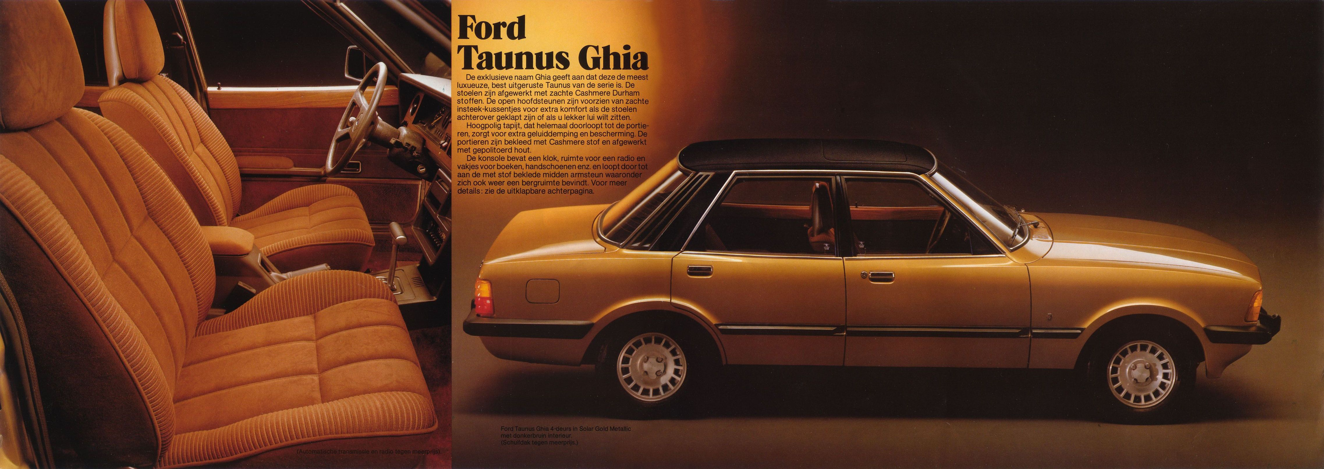 1979 Ford Taunusbrochure