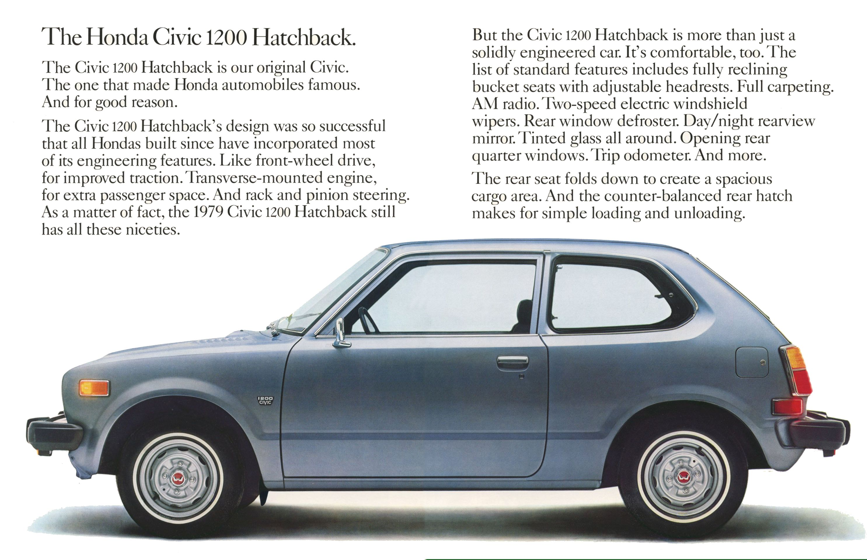 1979 Honda Civic brochure