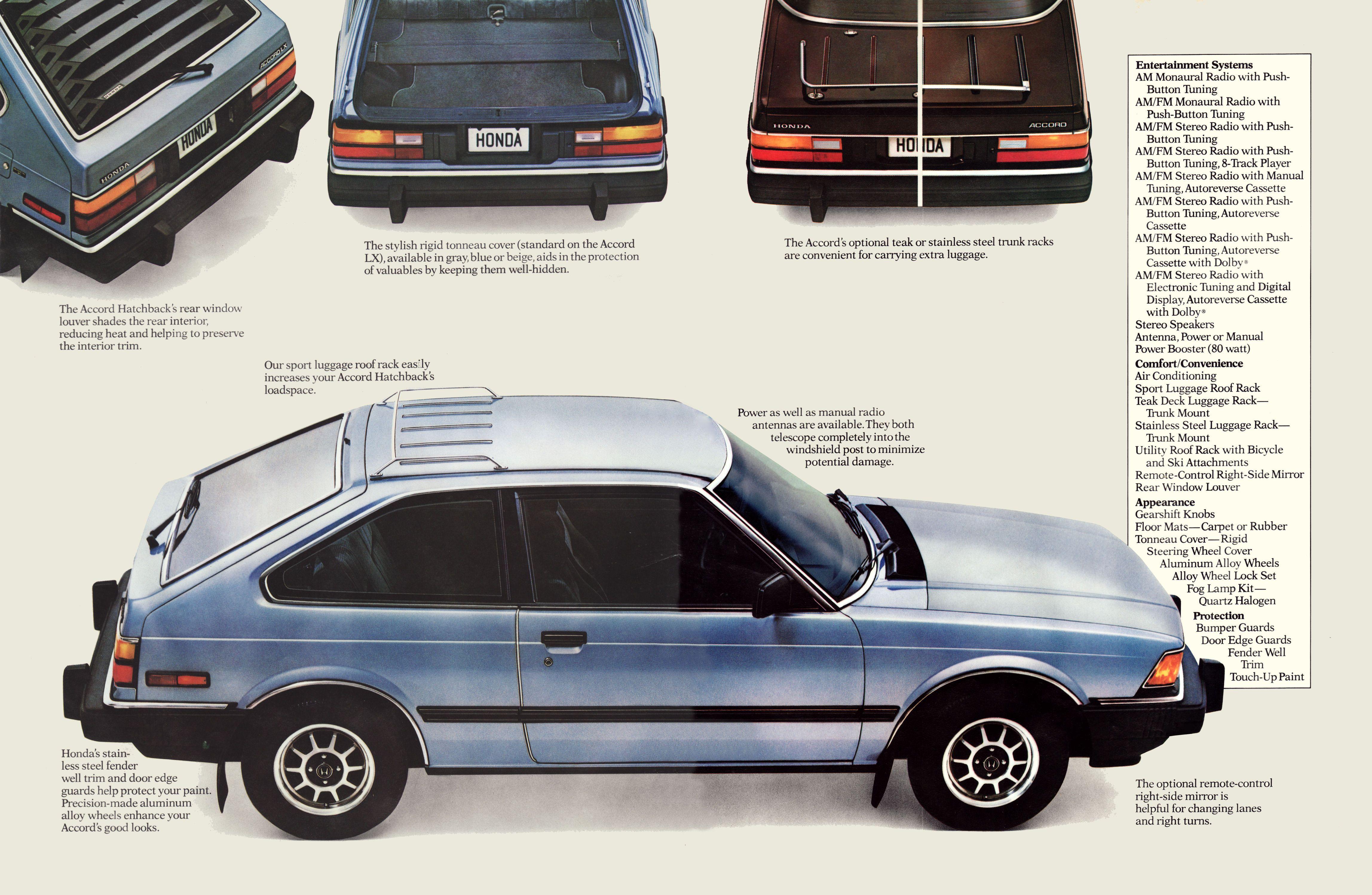 1982 Honda Accord Hatchback