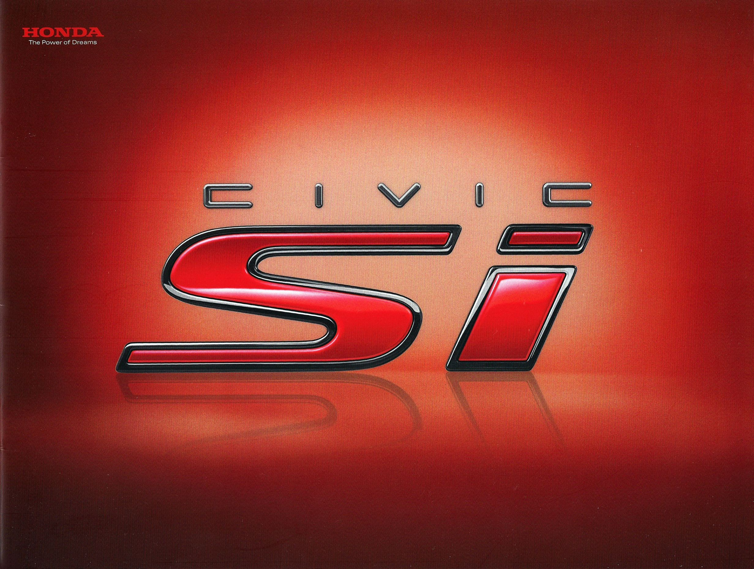 2009 Honda Civic Si Brochure