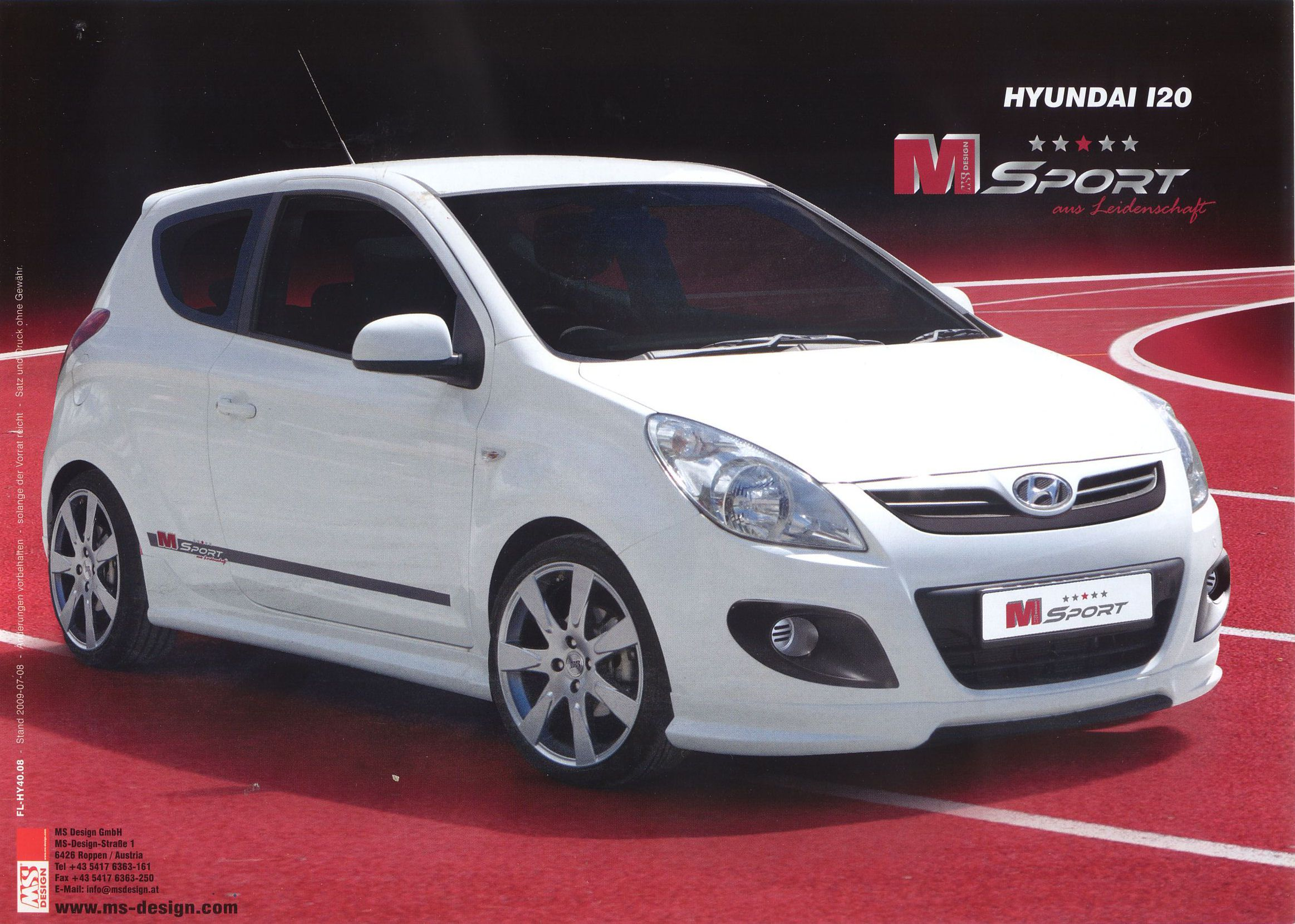 2009 hyundai i20 m sport brochure. Black Bedroom Furniture Sets. Home Design Ideas