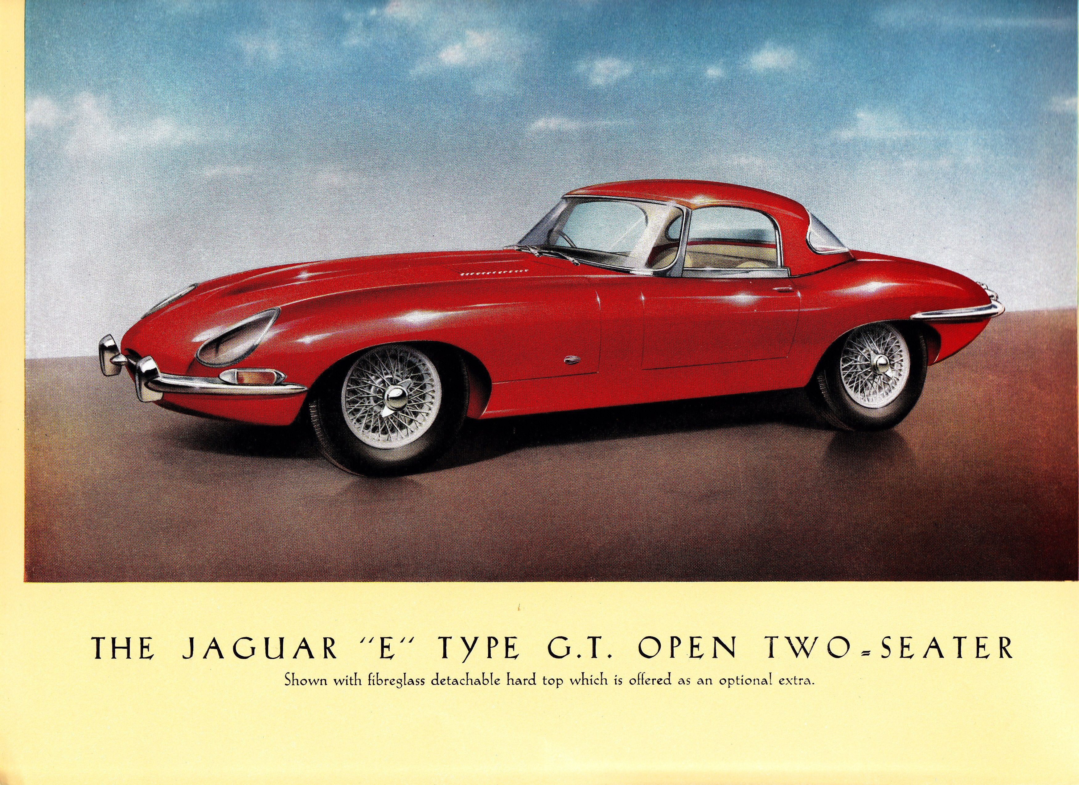 1961 Jaguar E Type Brochure