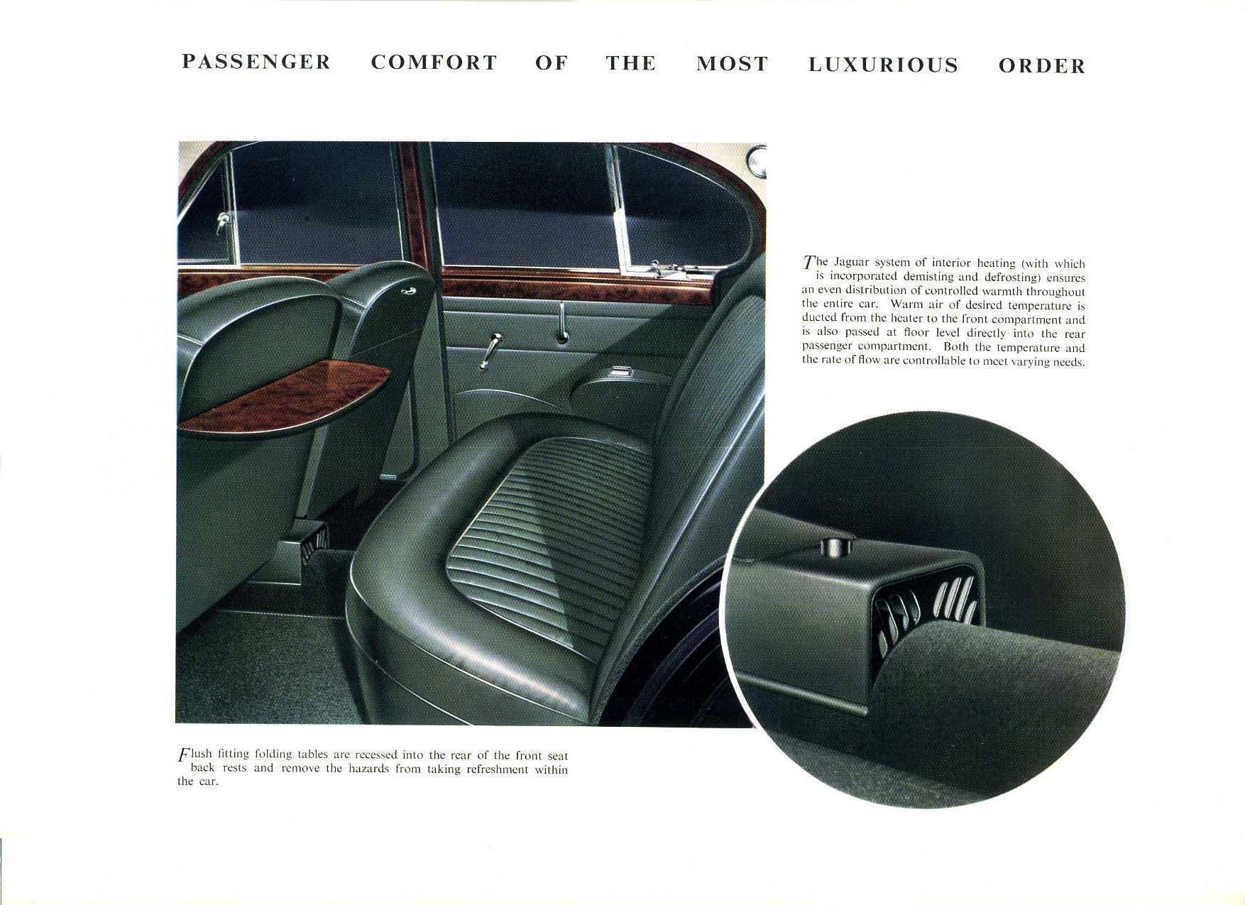 1961 Jaguar Mark 2 Models Brochure