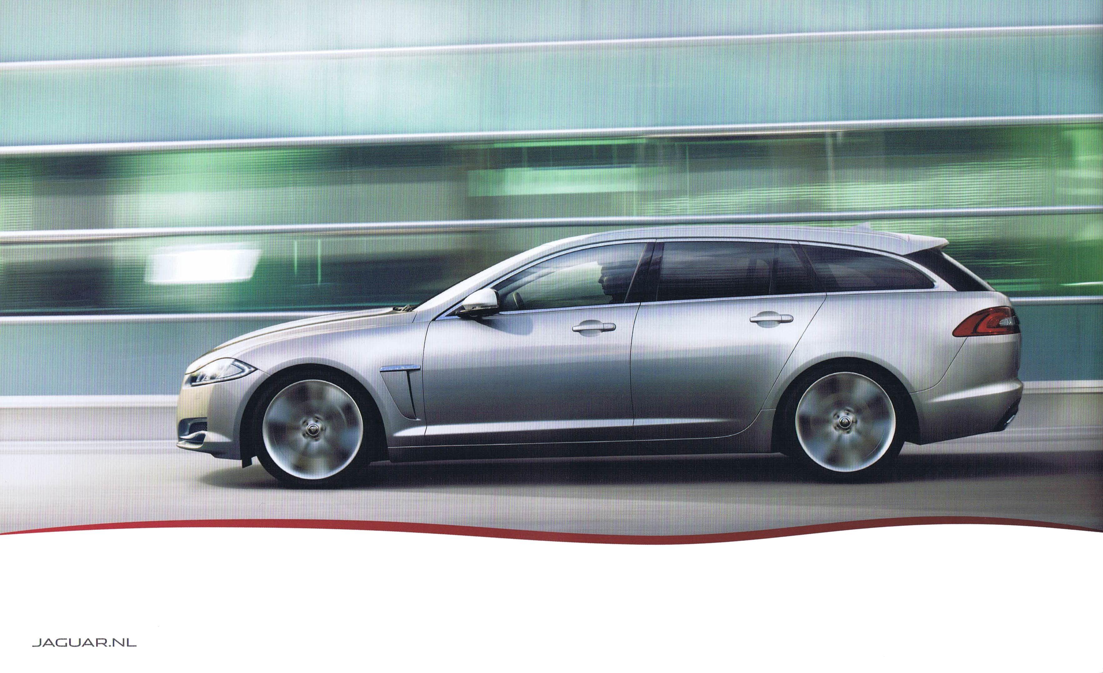 2012 Jaguar Xf Sportbrake Brochure