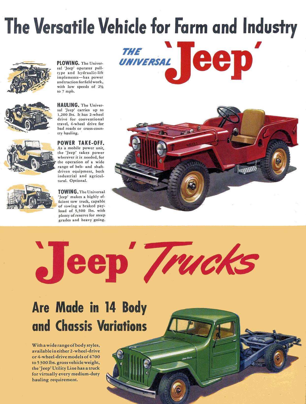 1954 Pontiac Brochure