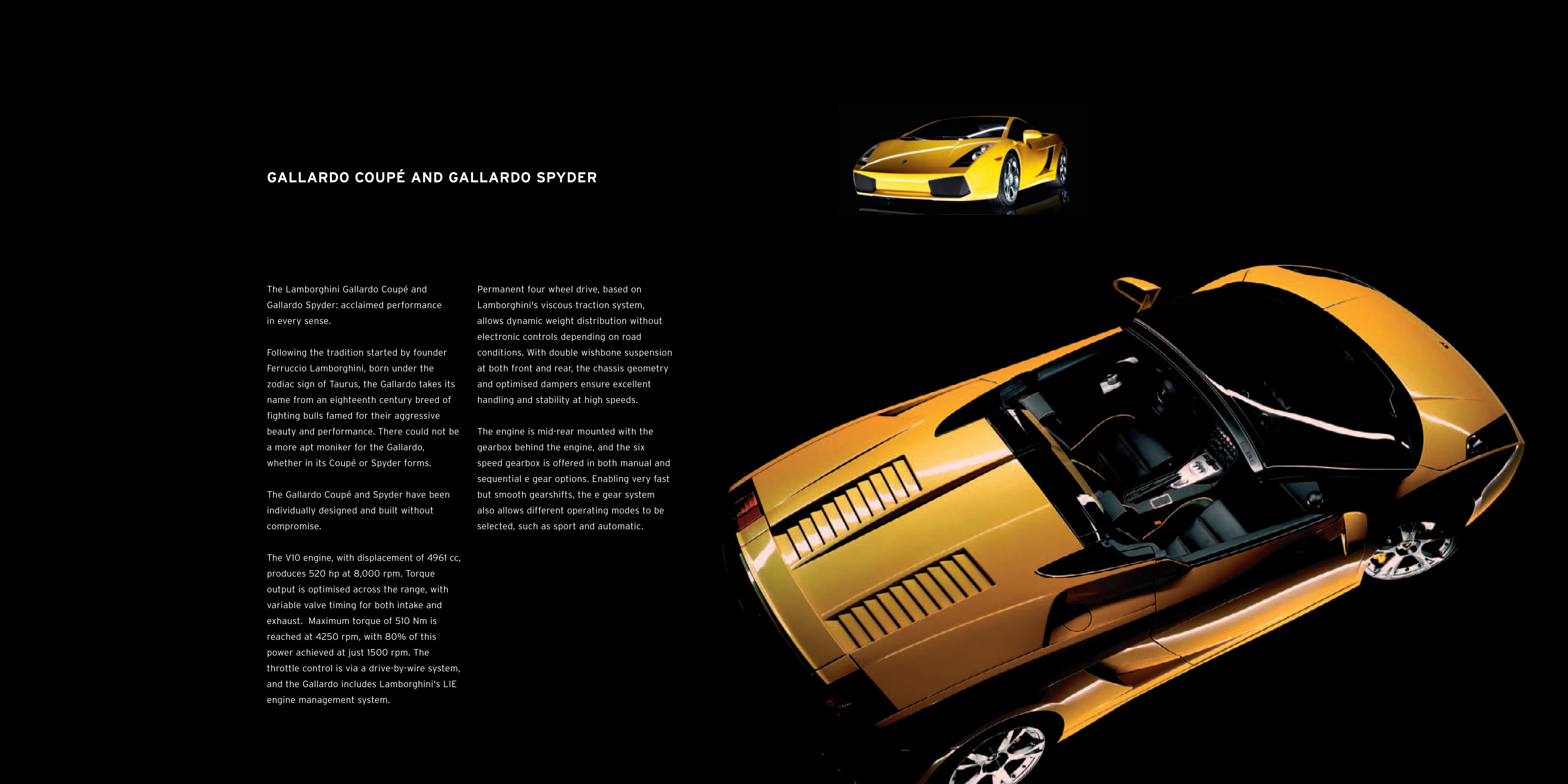 LAMBORGHINI GALLARDO BROCHURE PDF DOWNLOAD
