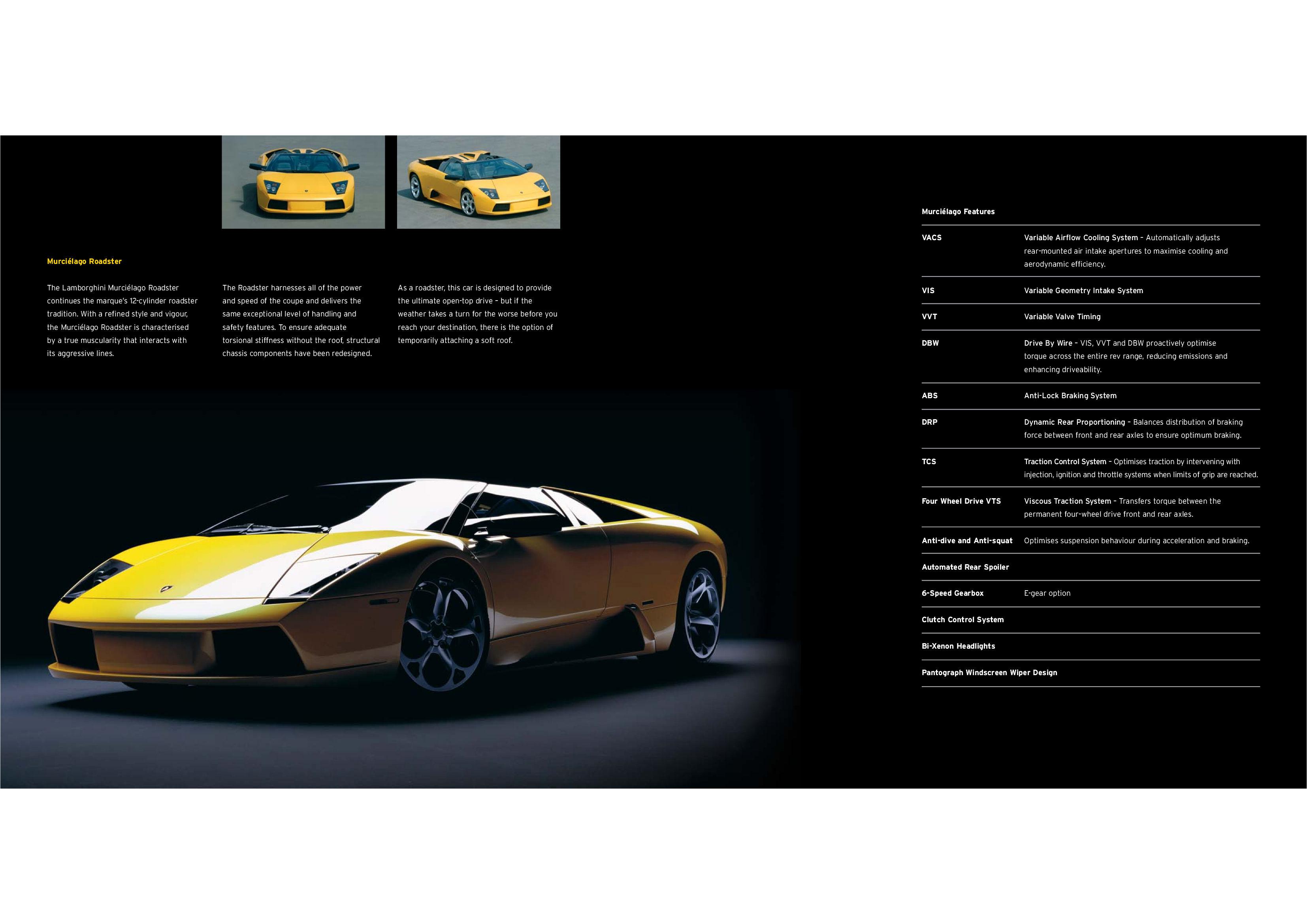 Lamborghini Murcielago 2008 Brochure