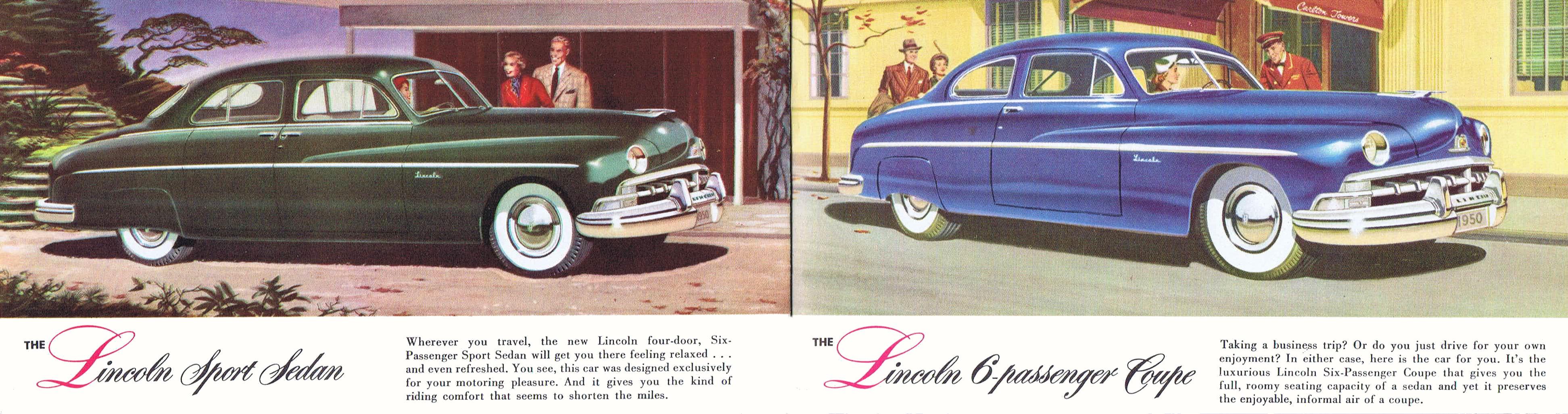1950 Lincoln Brochure