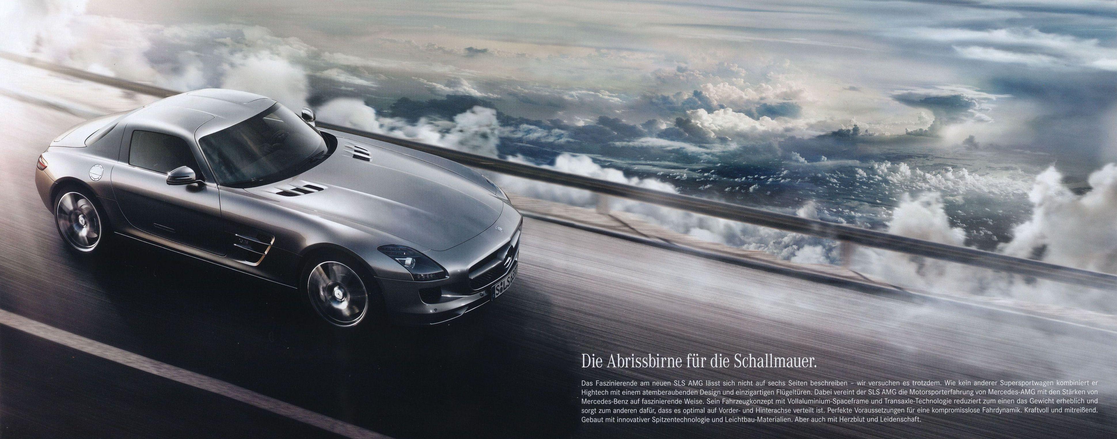 2009 Mercedes Sls Amg Brochure
