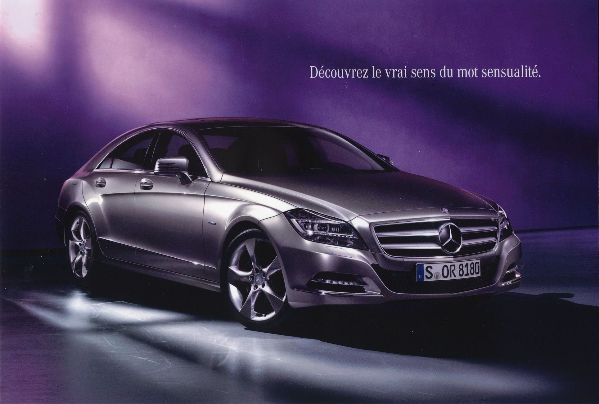 2010 mercedes cls brochure for 2010 mercedes benz cls