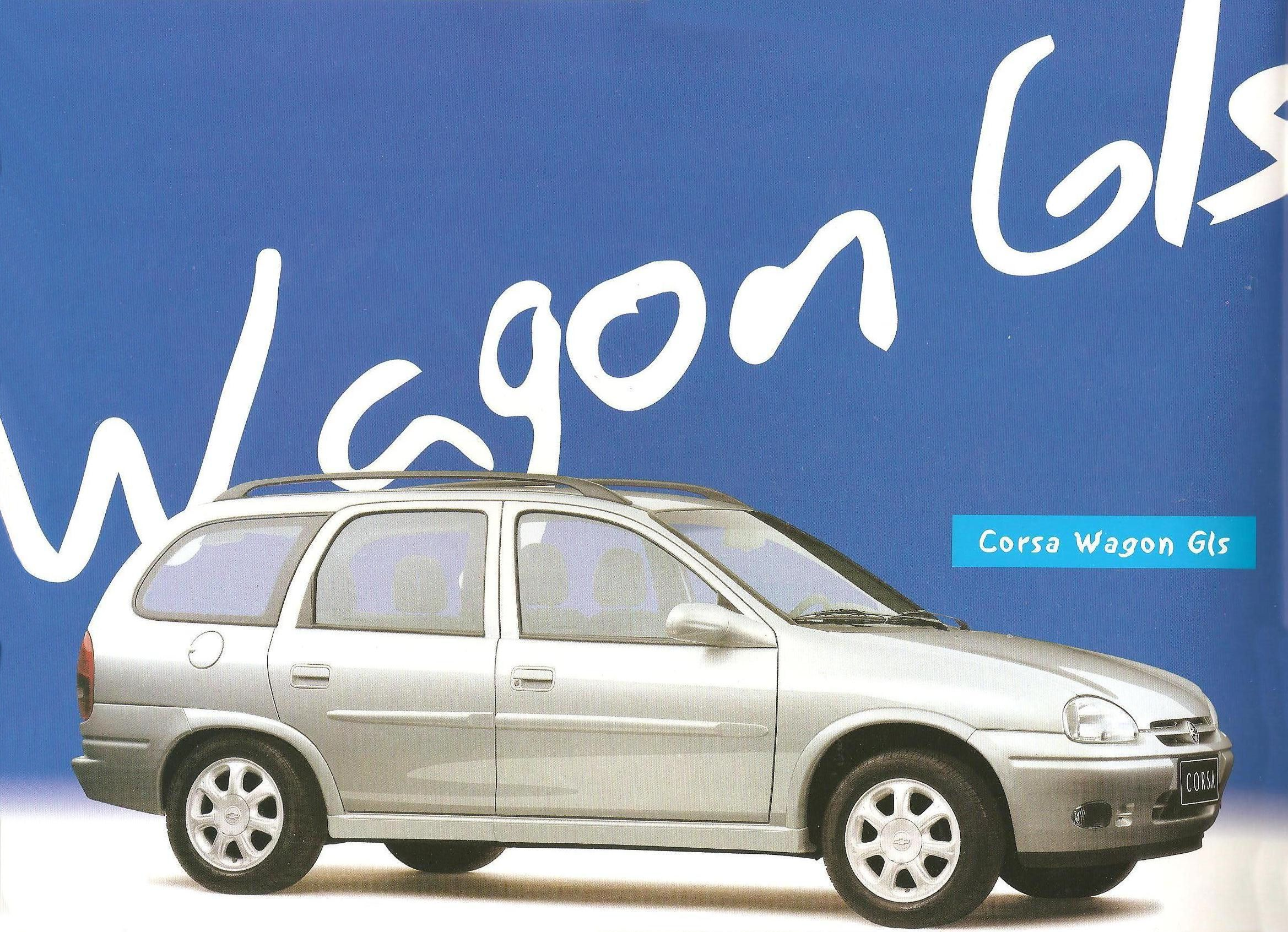 Opel Corsa Super & Wagon 1999 ( 3 Flyers )