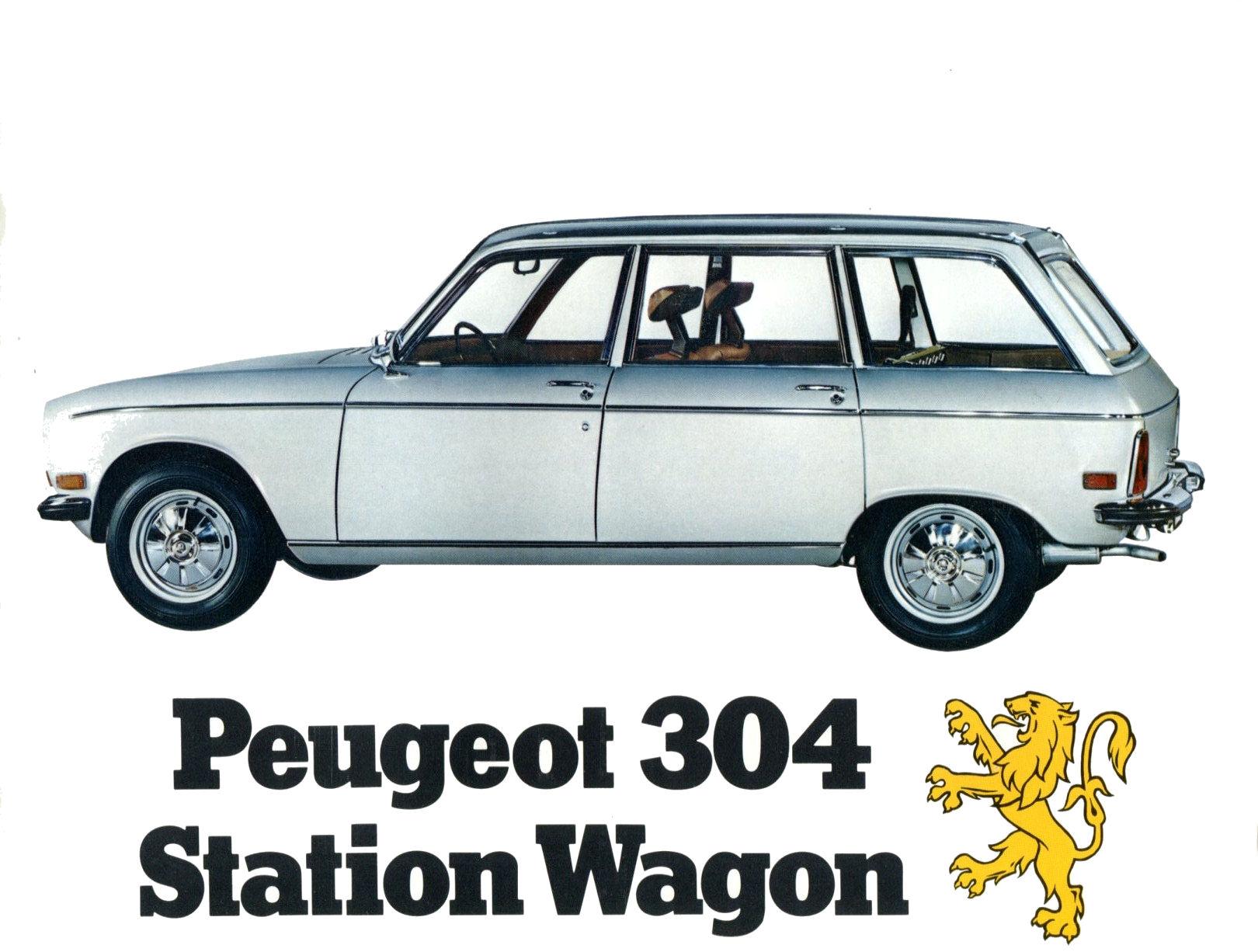 19 Peugeot 304 Us Brochure