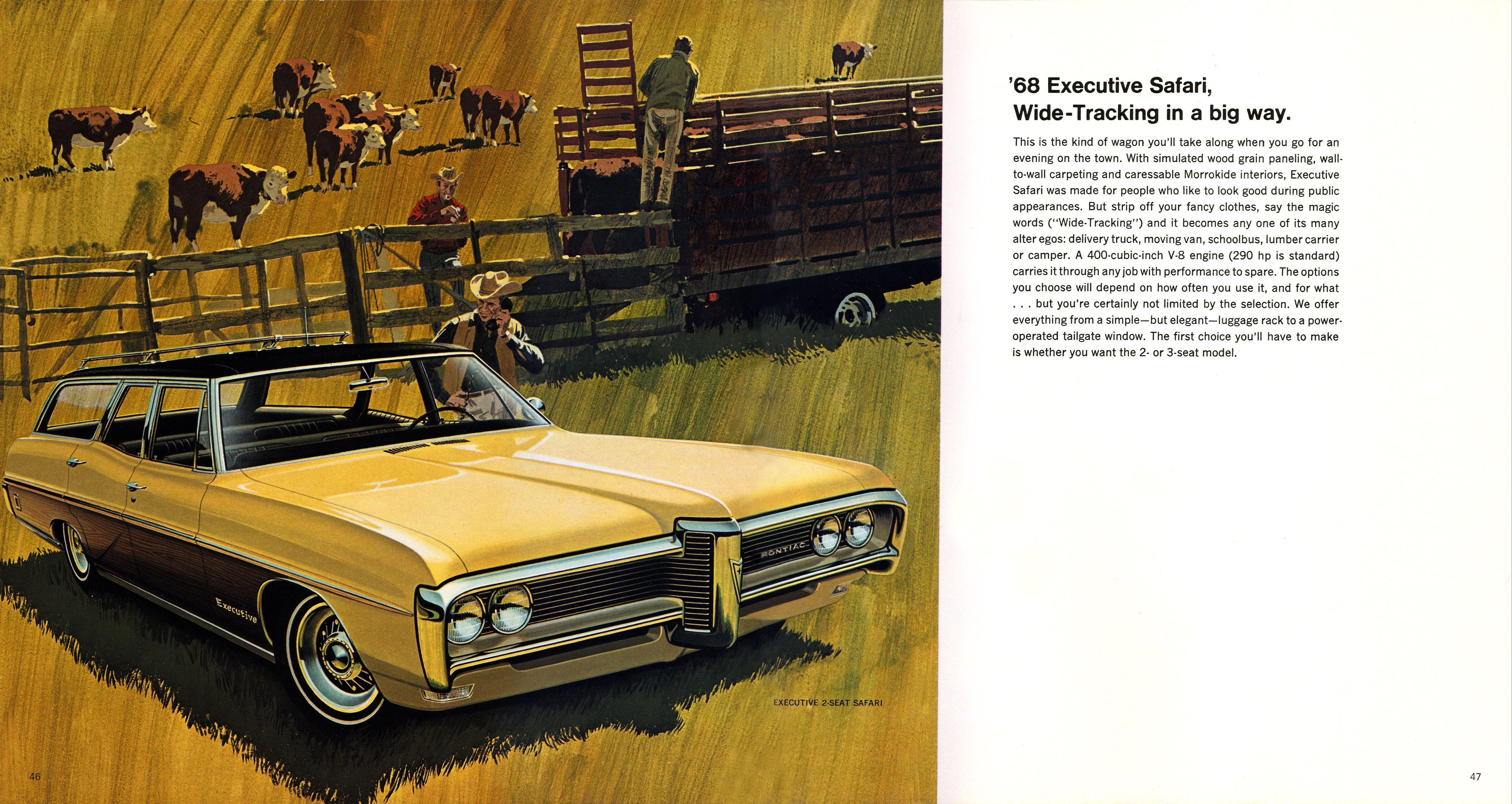 1968 pontiac brochure