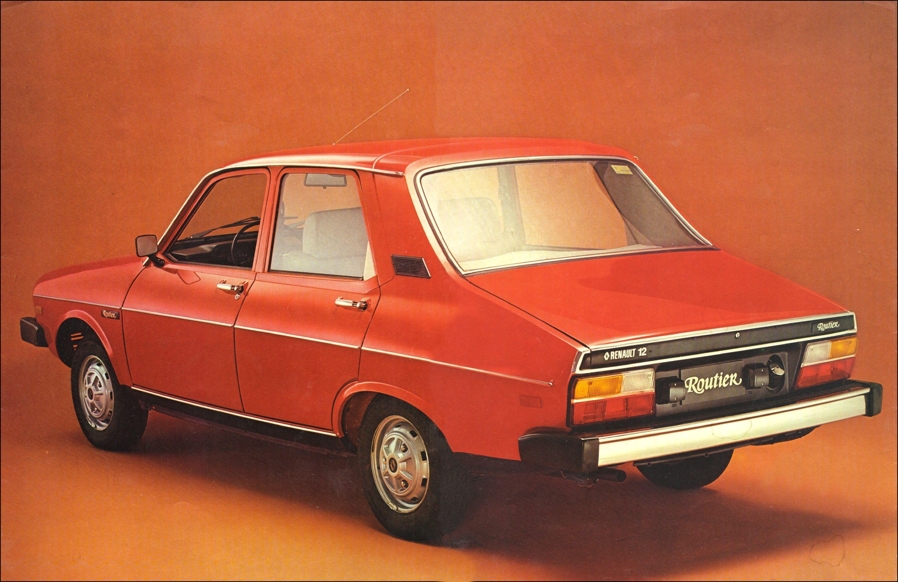 1982 Renault 12 Routier Brochure