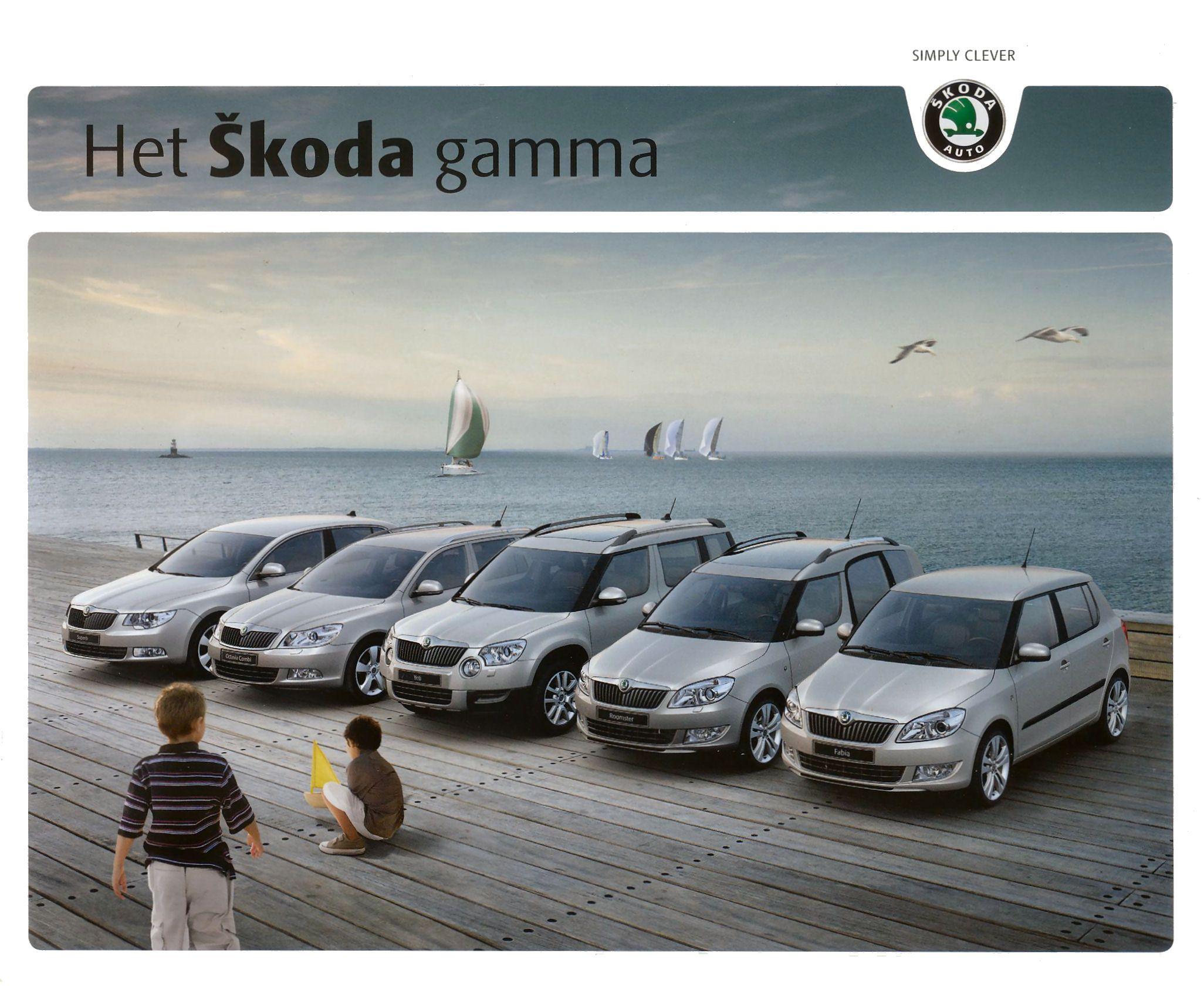 2010 Skoda Superb Brochure