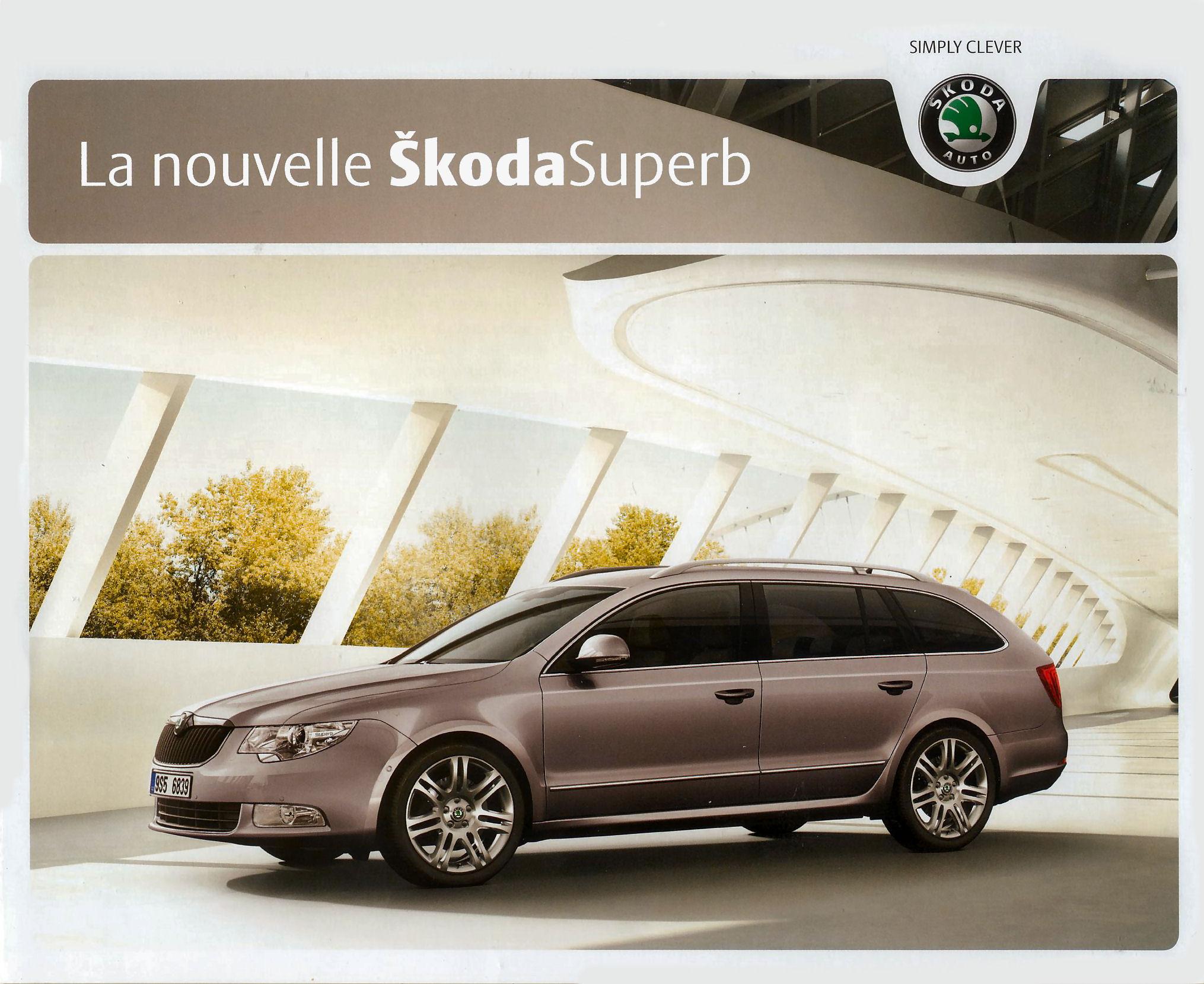 Skoda Superb Brochure Brochure Image