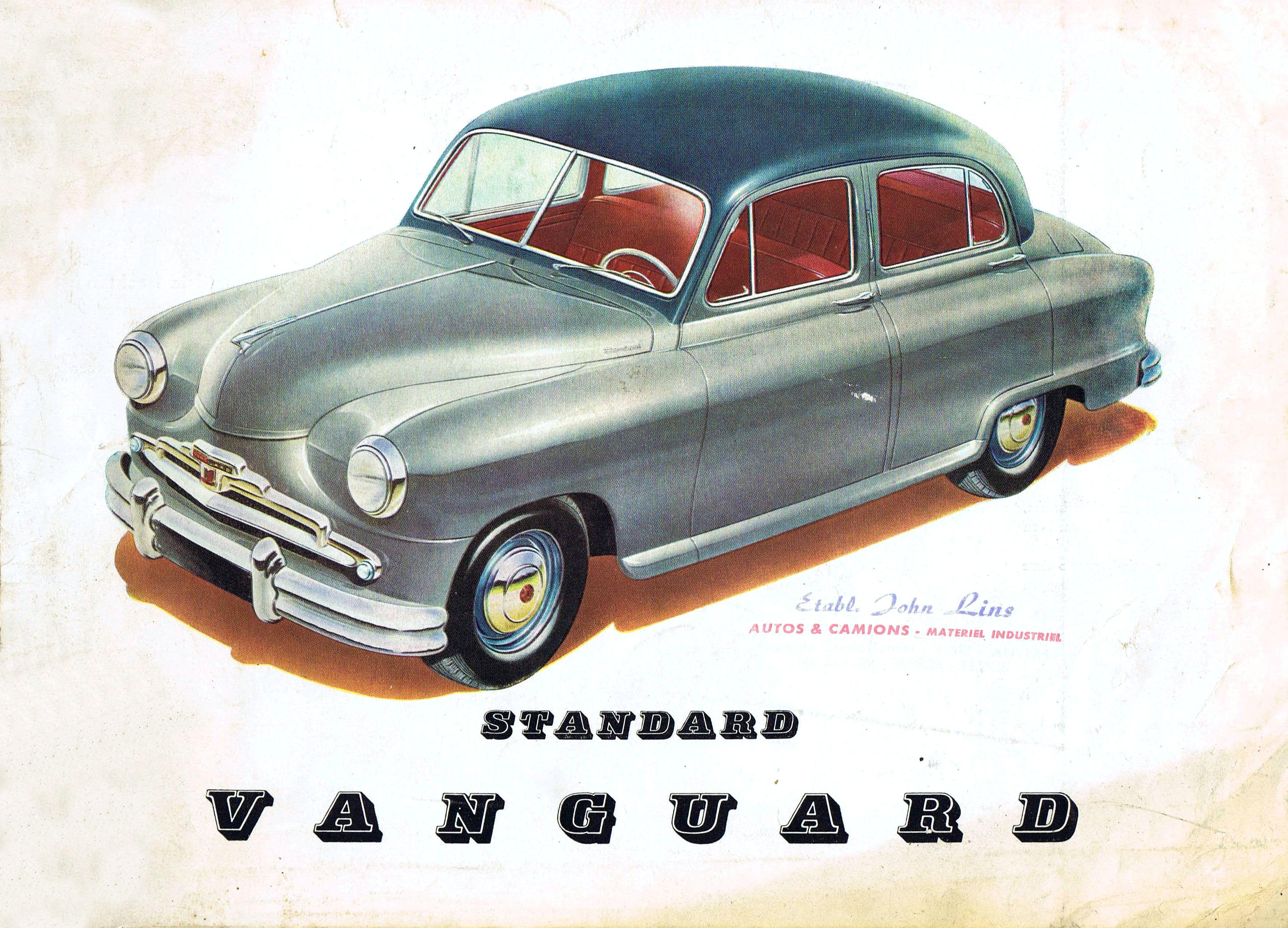 Standard Vanguard brochure