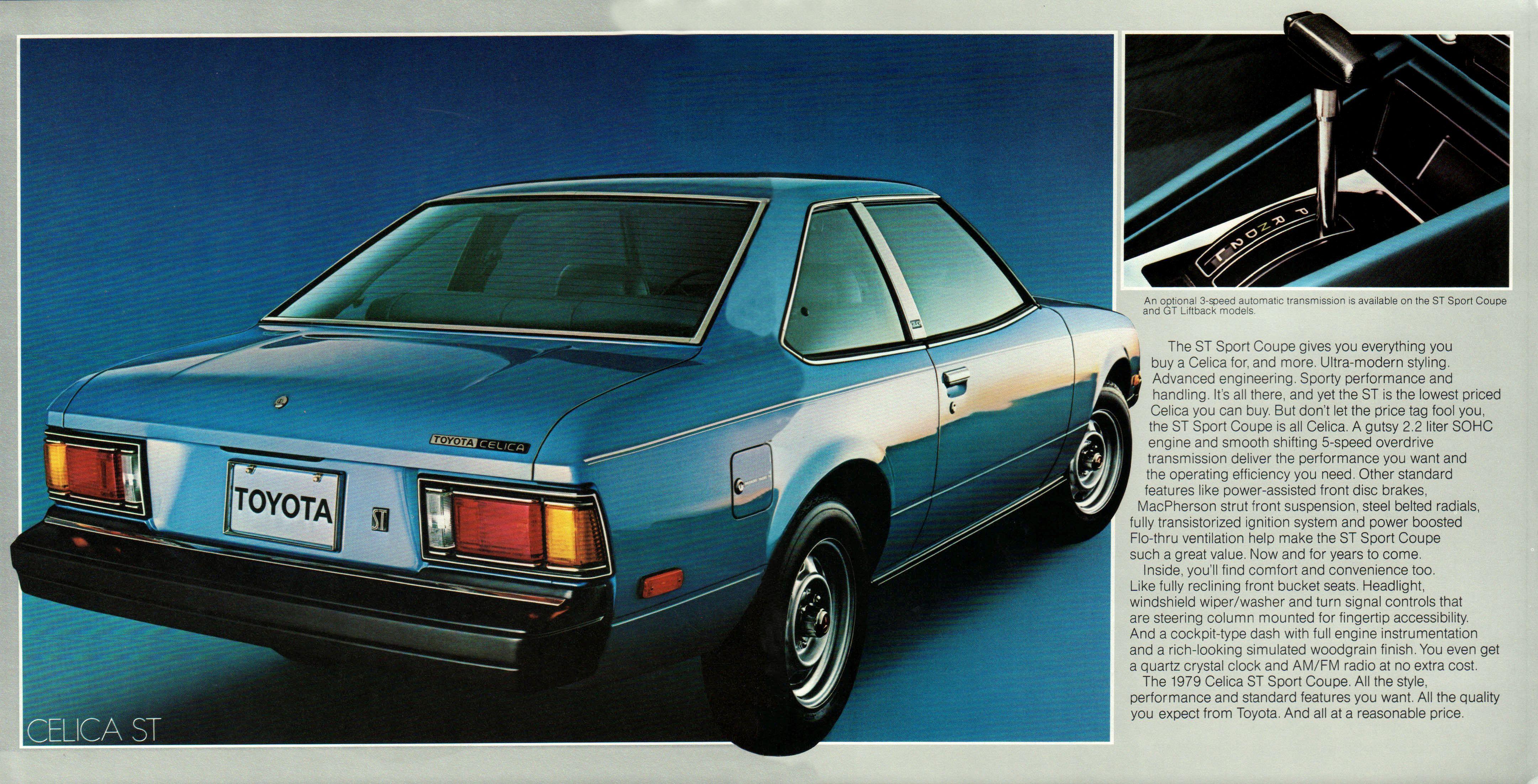 1979 Toyota Celica Brochure