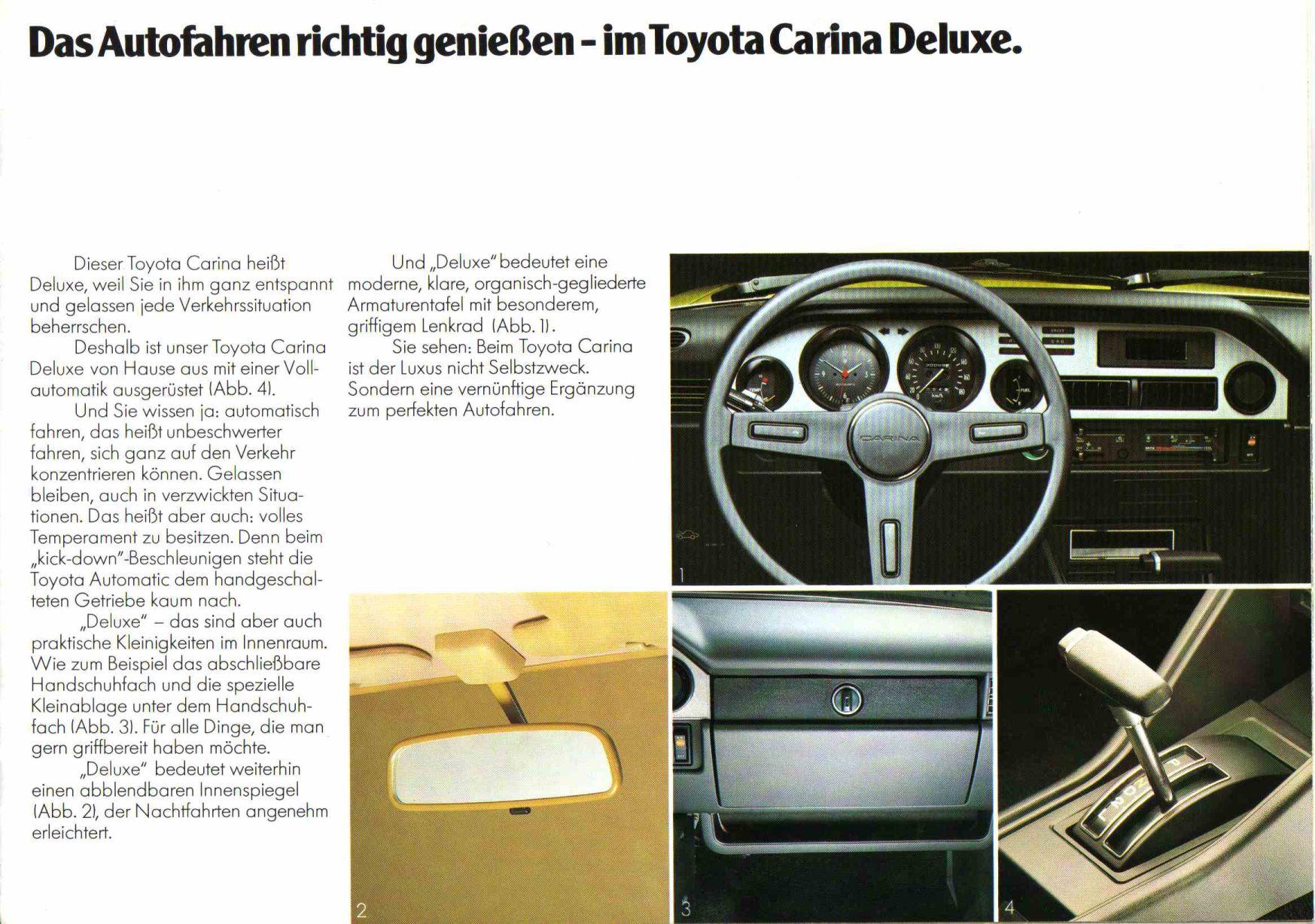 характеристика Toyota Карина 2 #8