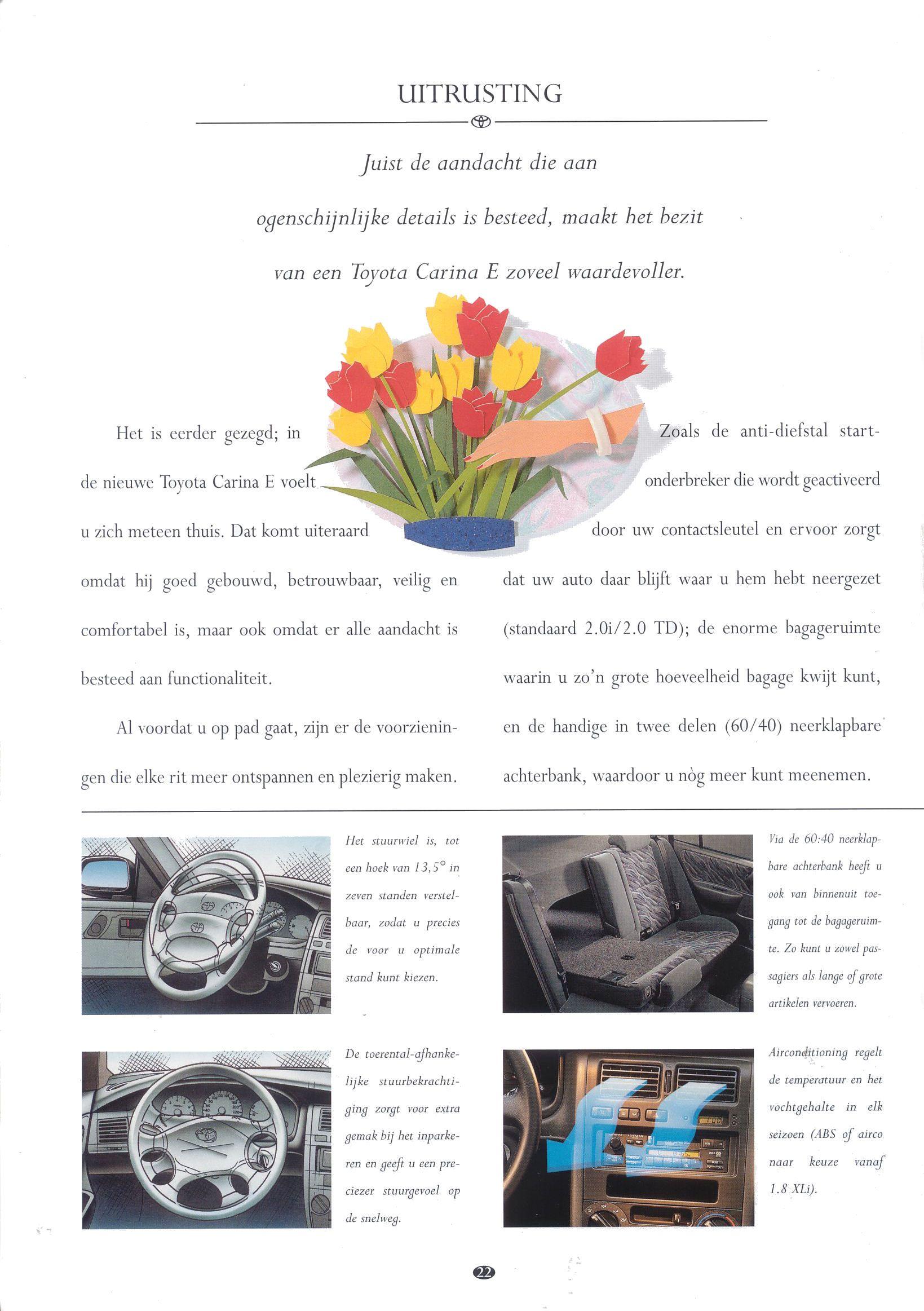 1997 Toyota Carina Brochure