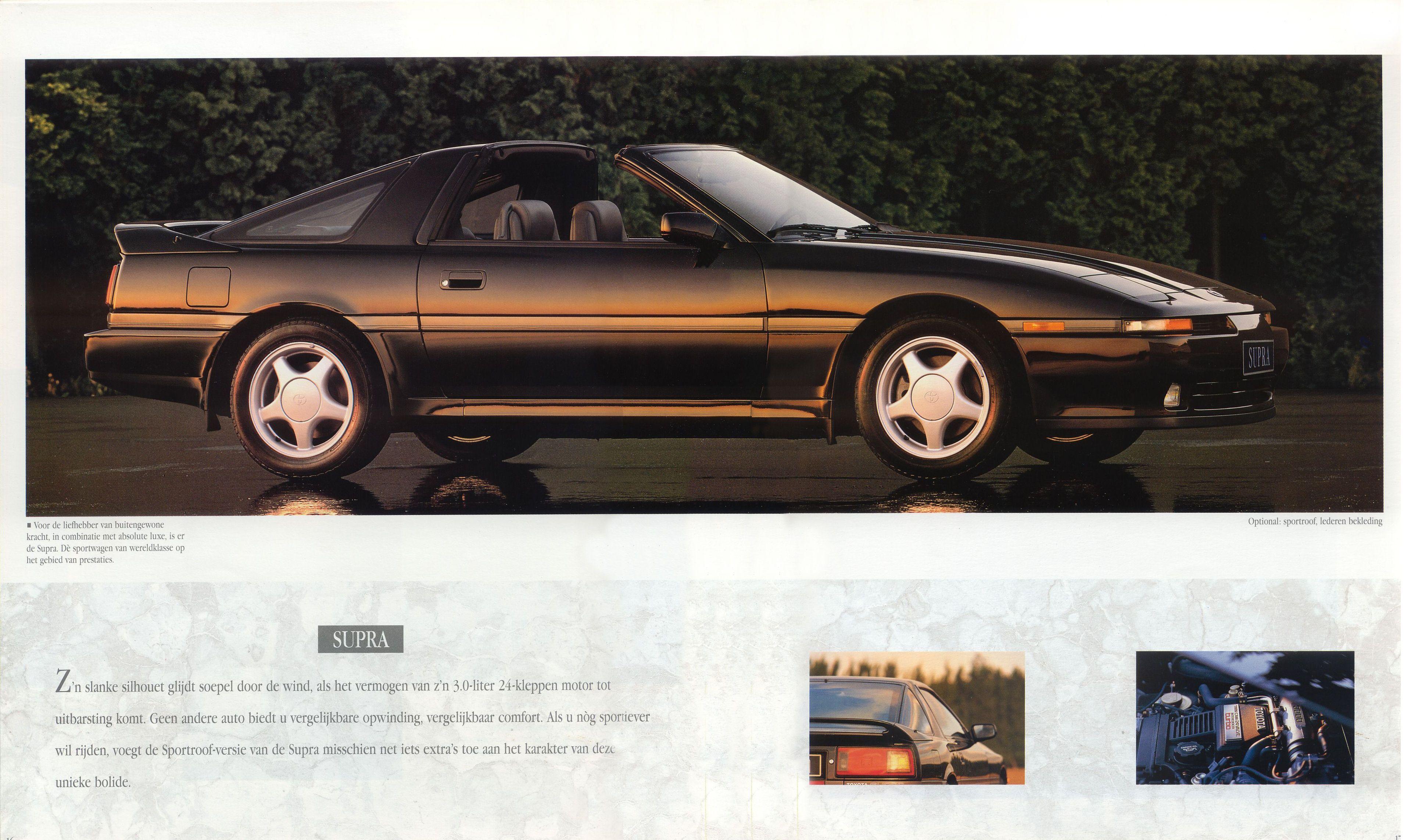 1992 Toyota Sport Brochure