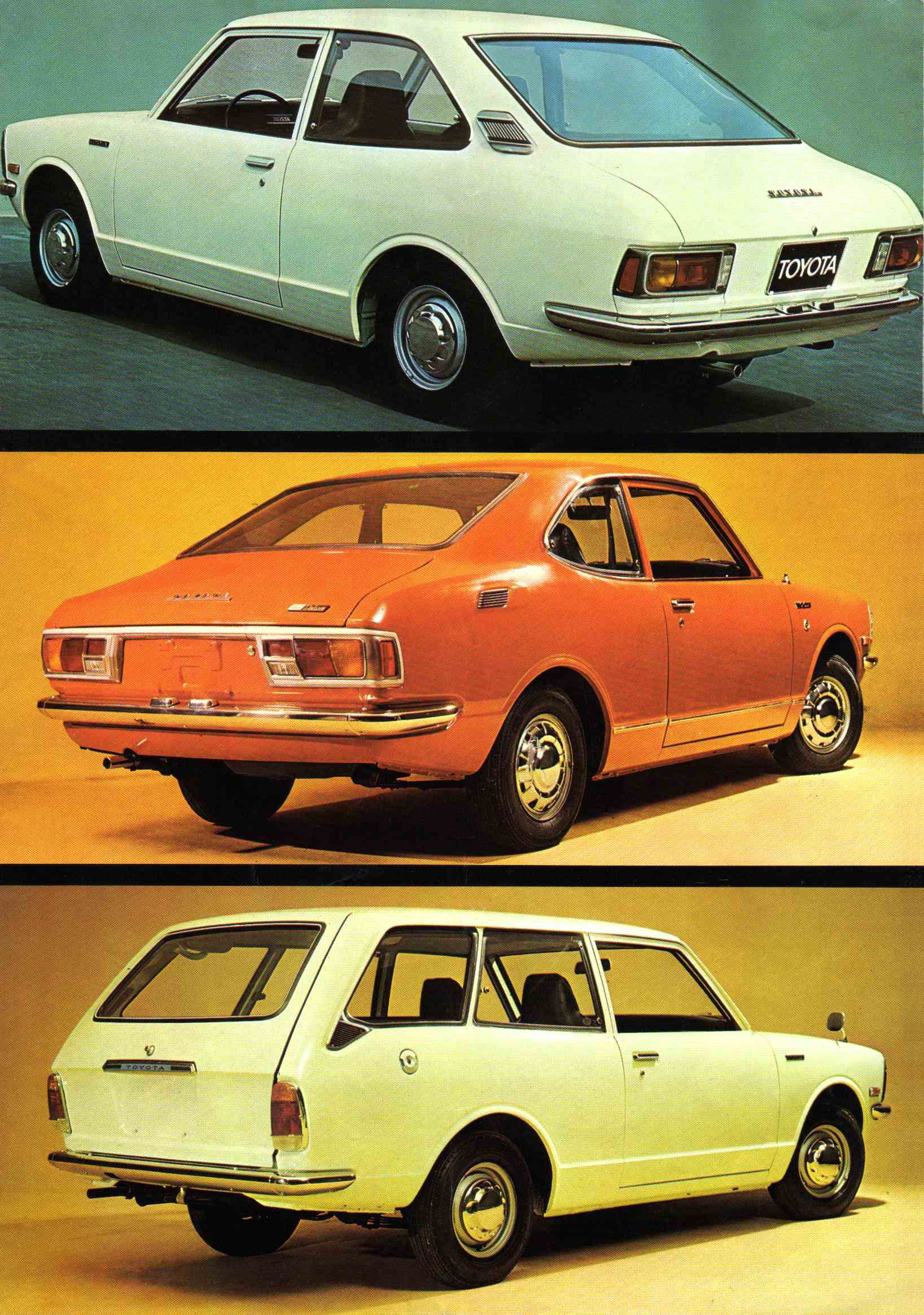 1973 Toyota Corolla Brochure