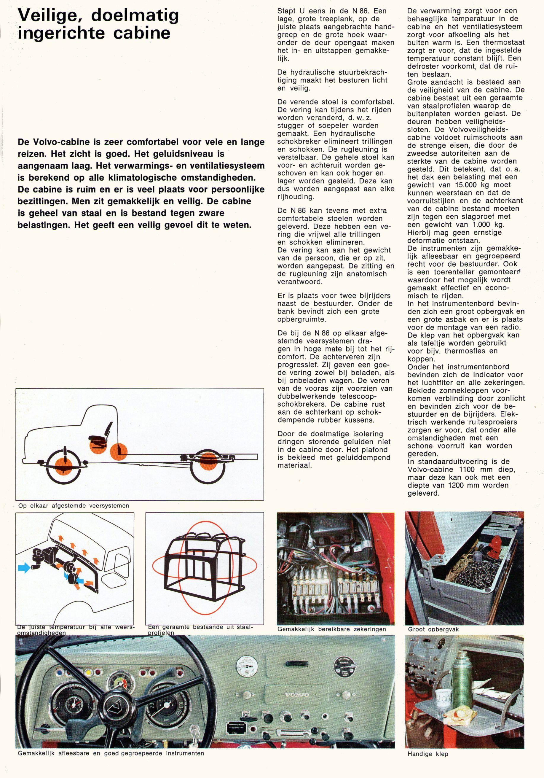 1968 Volvo N86 Brochure