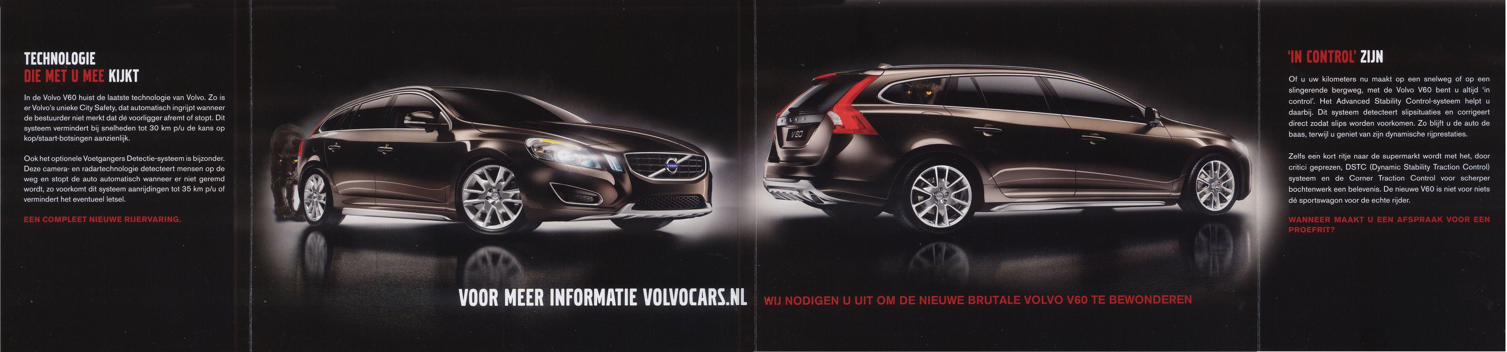 2010 Volvo V60 Brochure