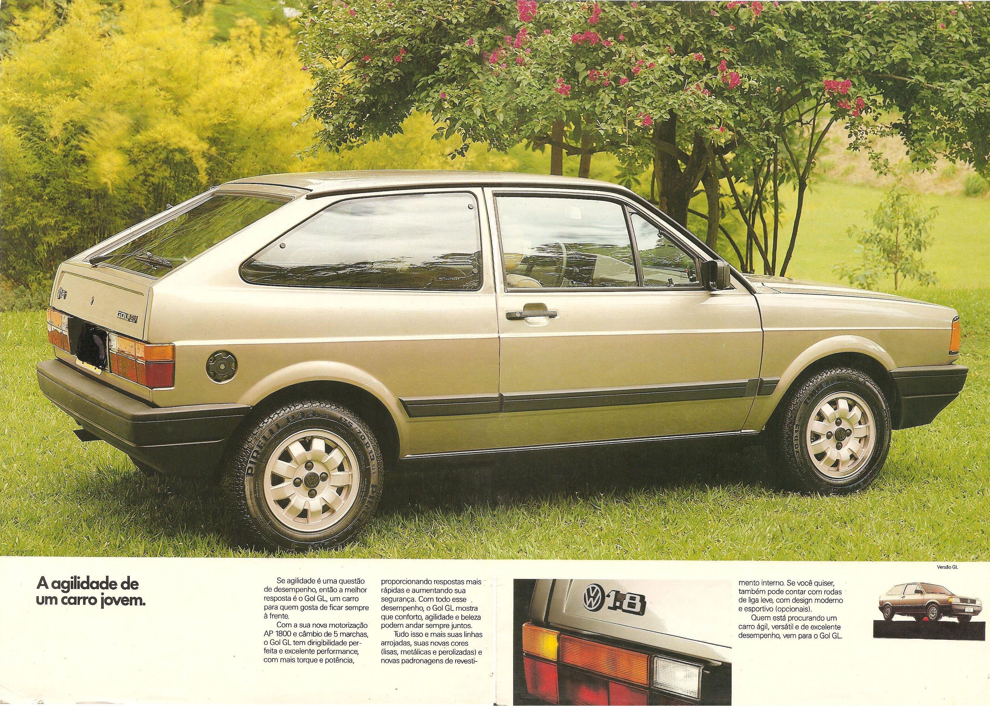 1990 Volkswagen Gol Brochure
