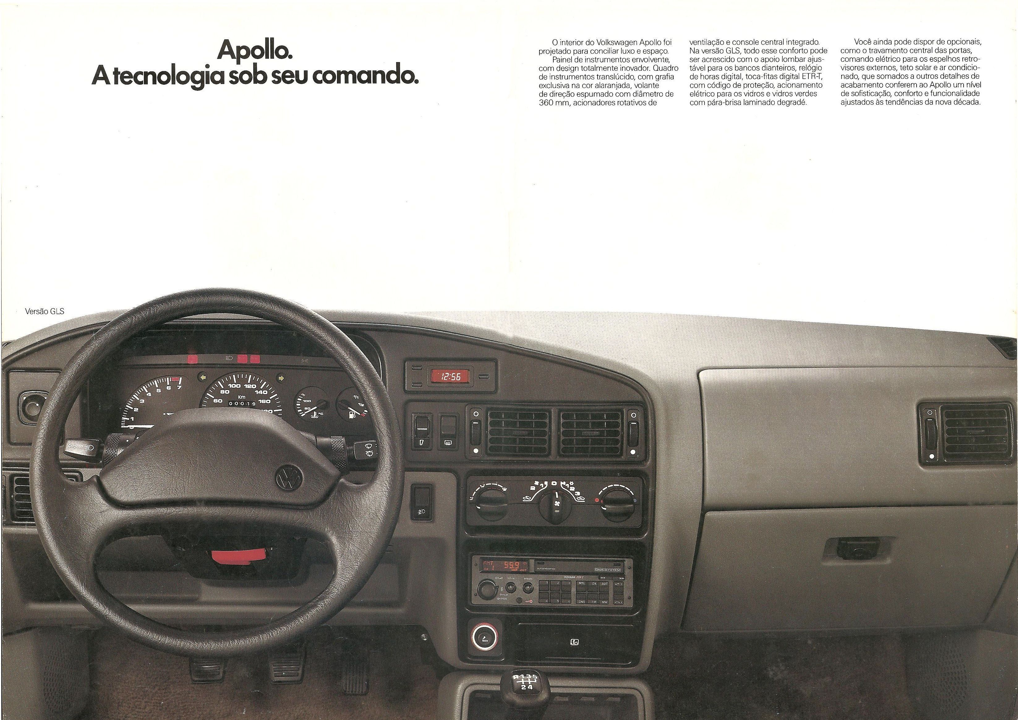 1990 Volkswagen Apollo brochure