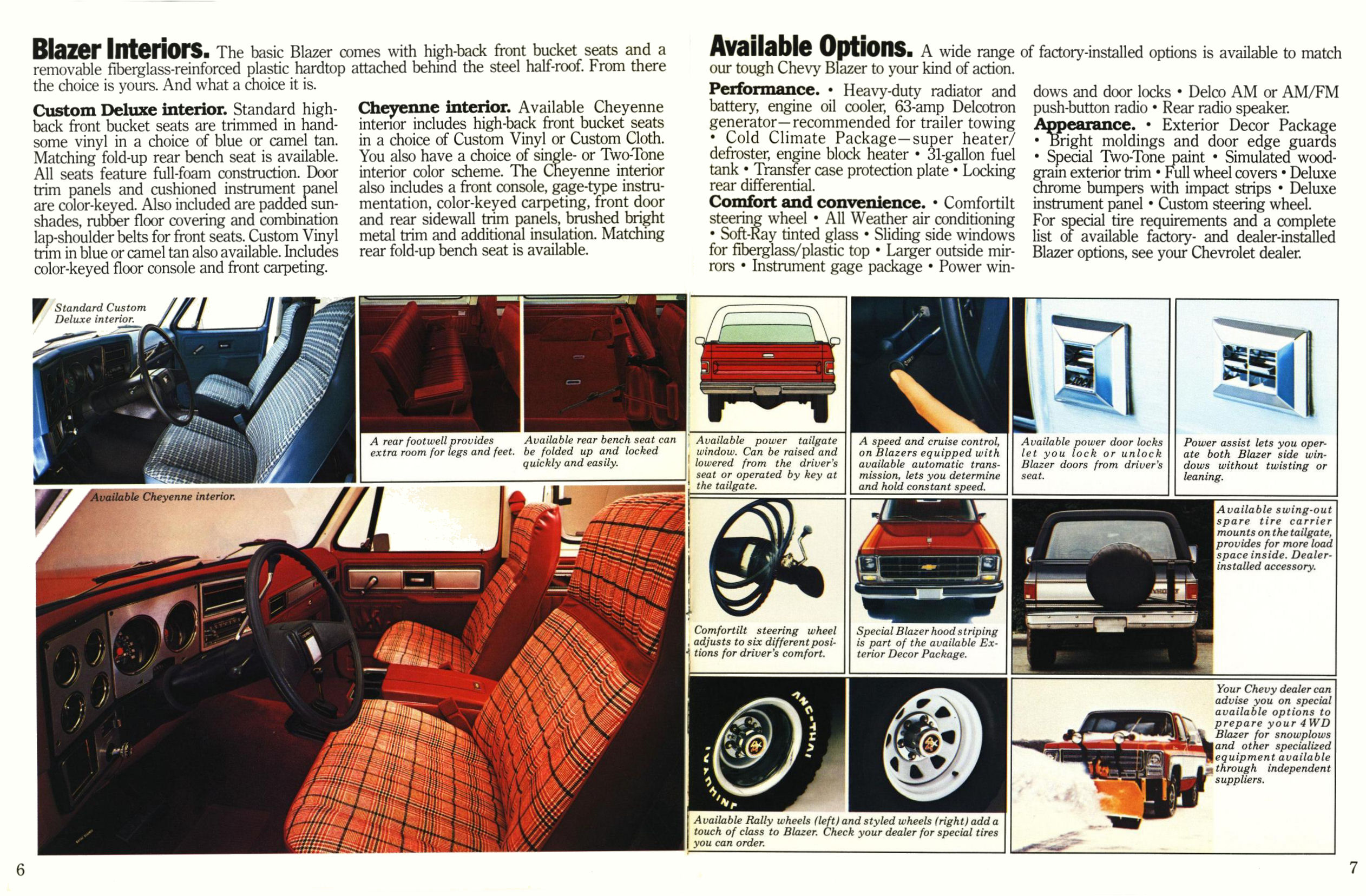 1979 Chevrolet Blazer brochure