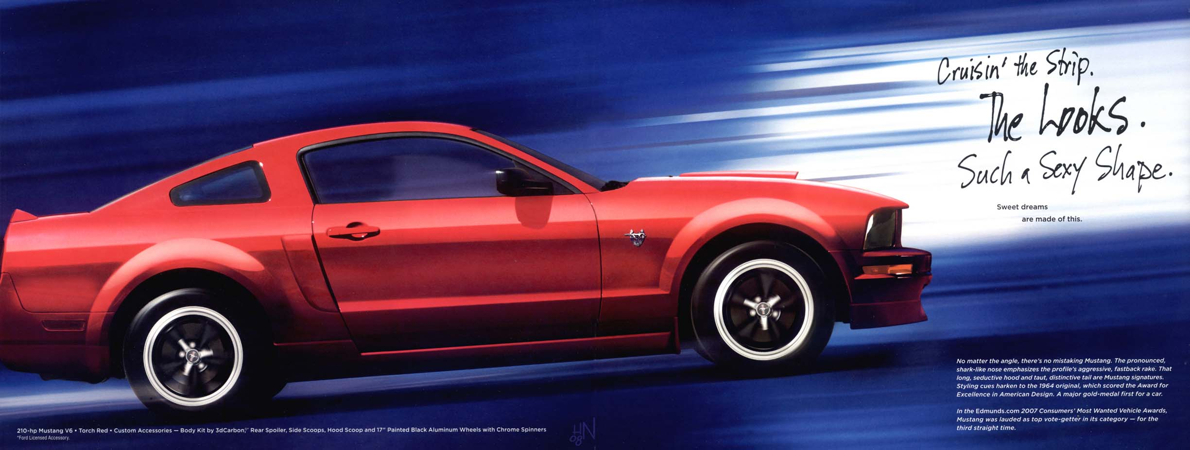 2009 Ford Mustang Brochure 1964 Howard Nourse From The Us Contributed These Scans